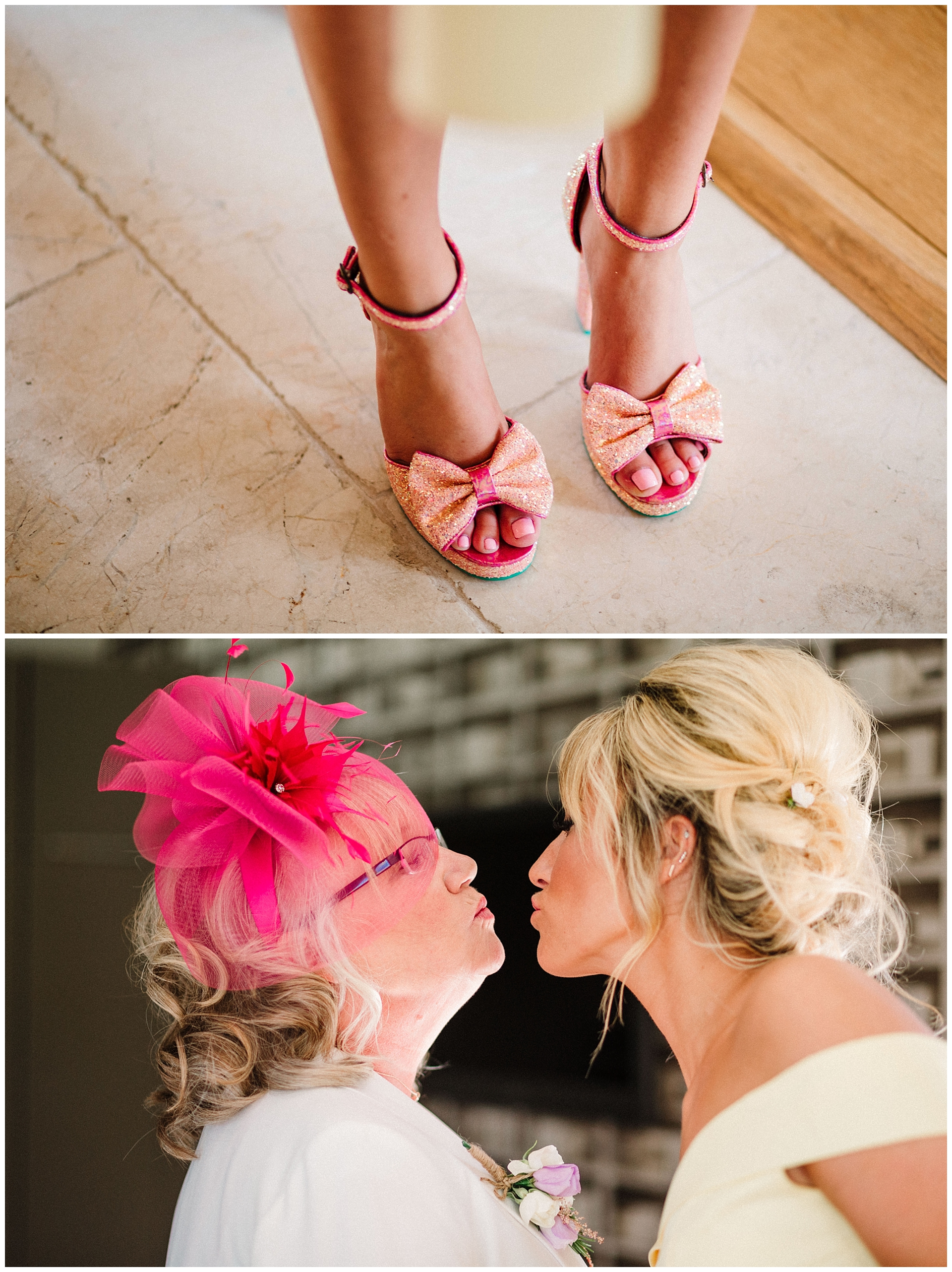 groom's mother and sister air kissing.jpg