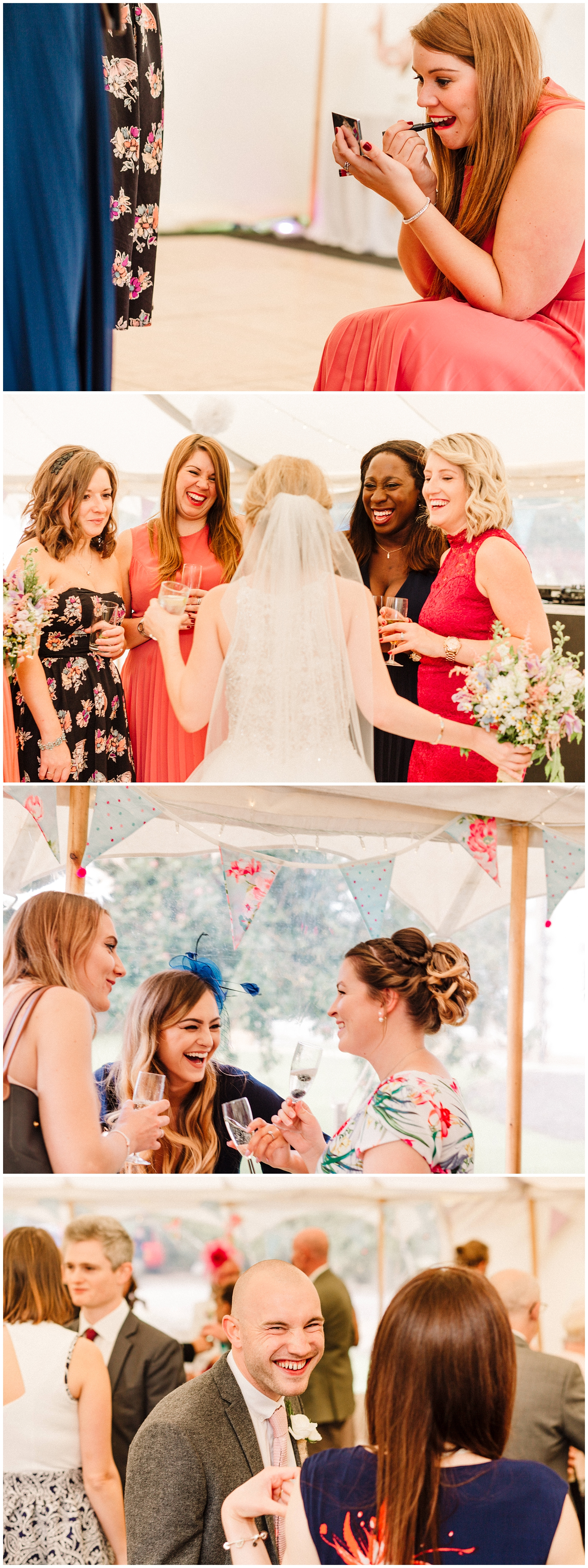 guests talking and laughing at a wedding reception.jpg