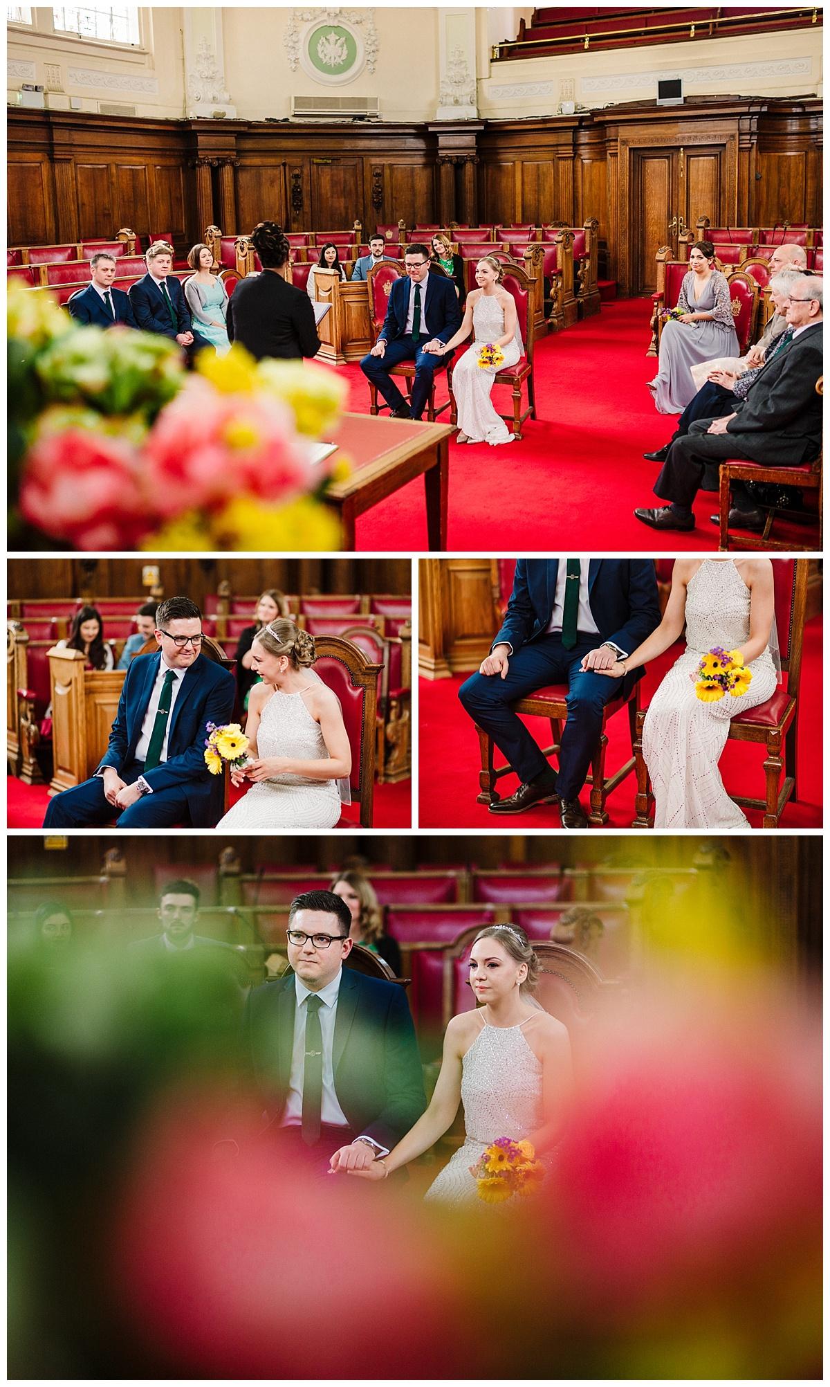islington town hall city wedding