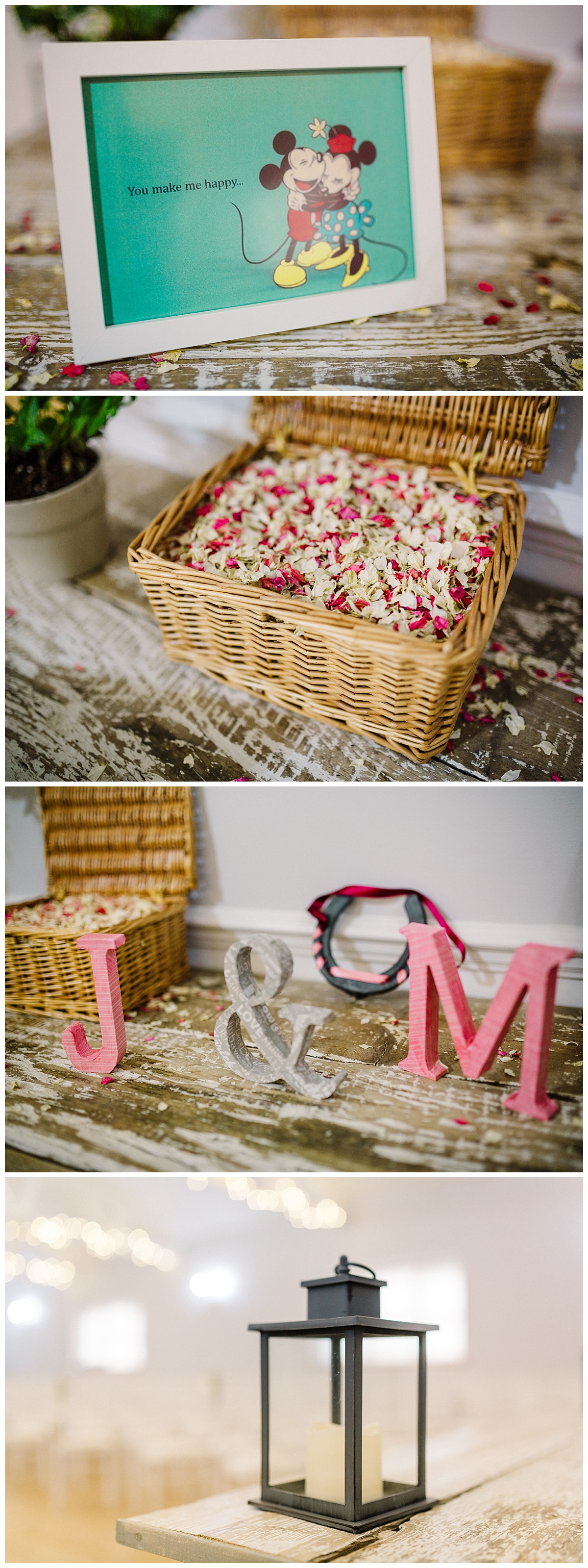 wedding details at milling barn in hertfordshire