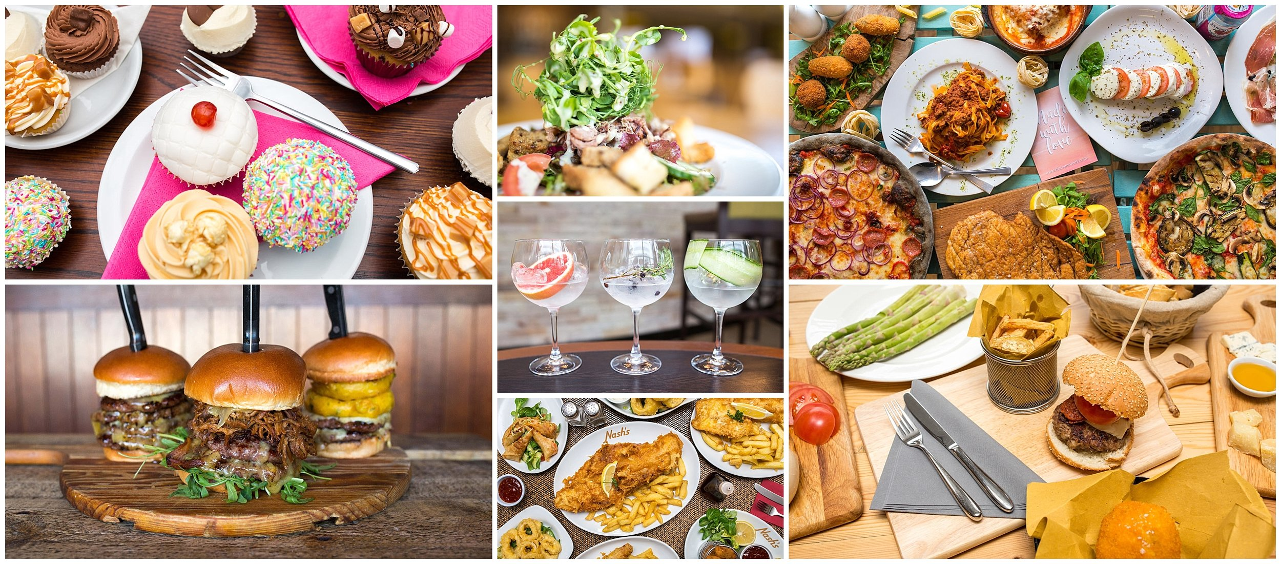 Food Photography for Deliveroo, Sukhothai & Scampston Hall