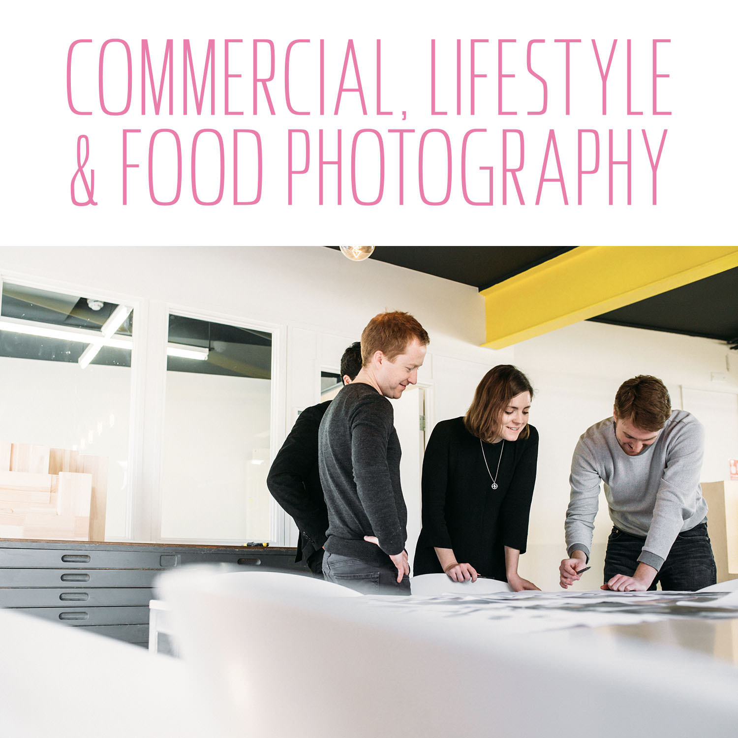 Commercial & lifestyle photographer Yorkshire