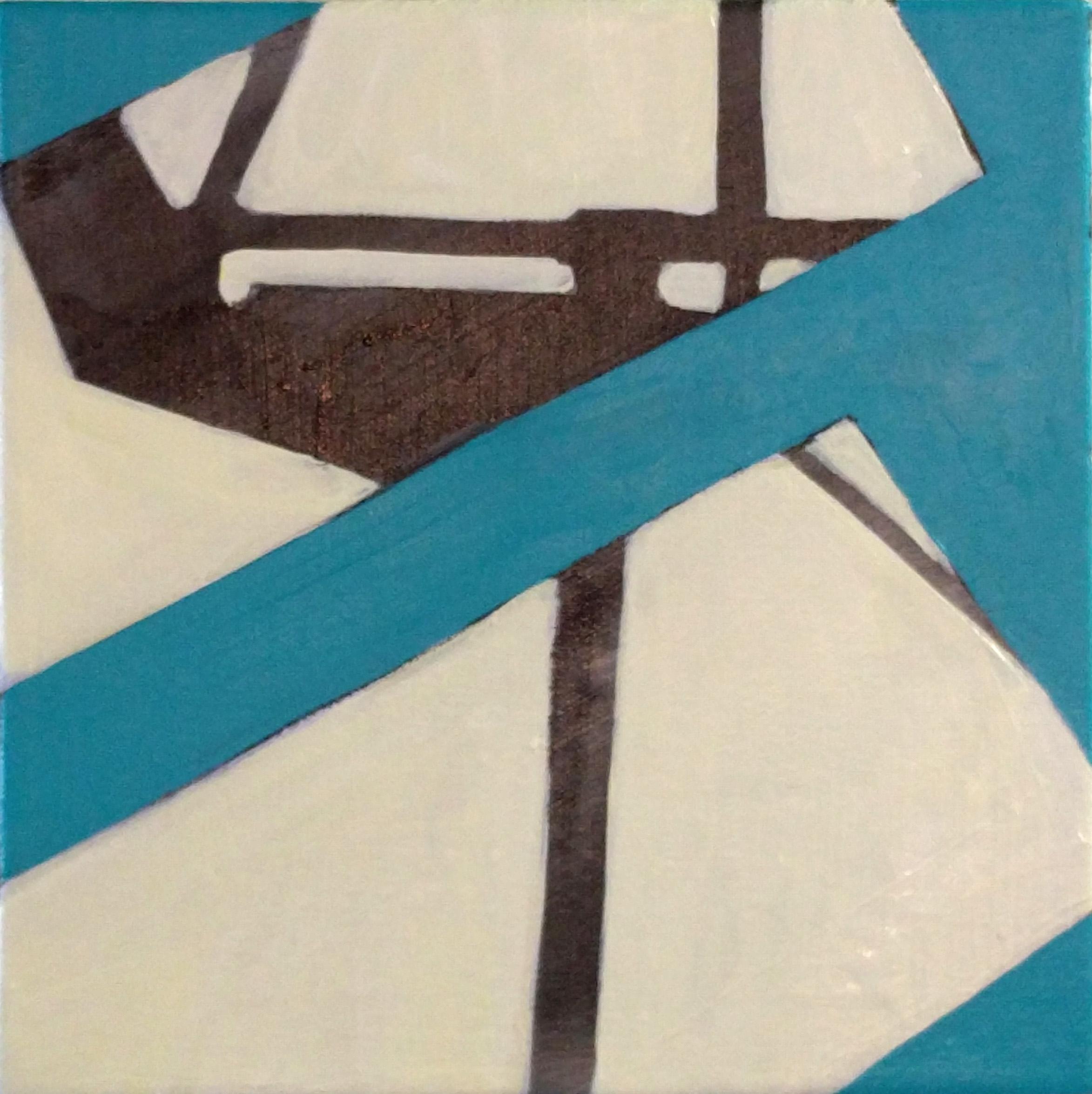 Crosswalk , 12x12, acrylic on canvas