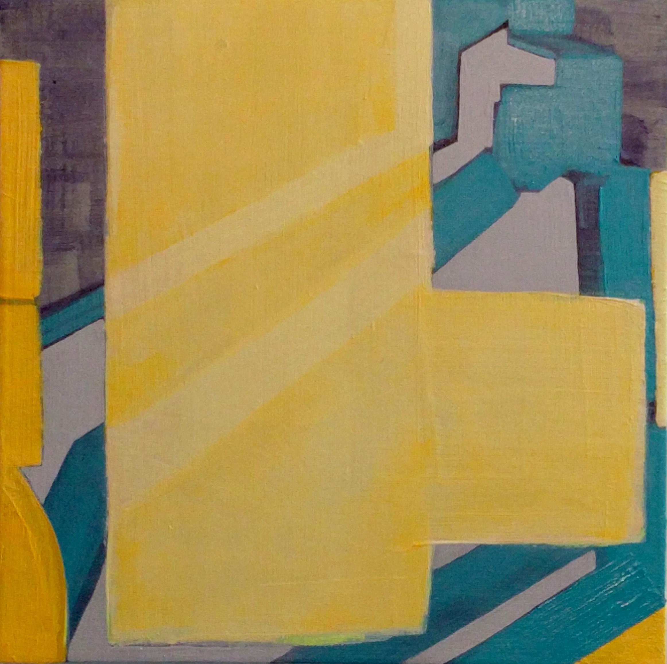 Tuesday Street Sweep , 12x12, acrylic on panel