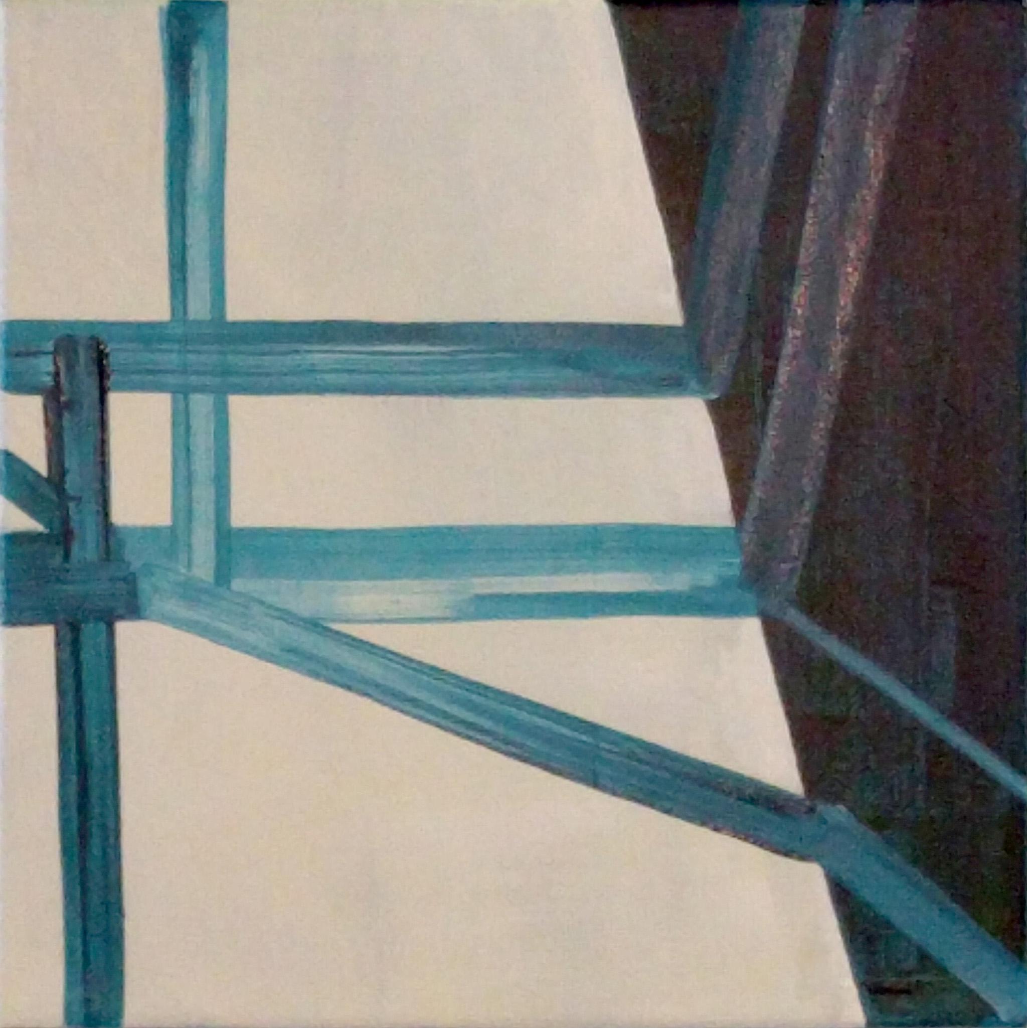 1001 W Chicago , 12x12, acrylic on canvas