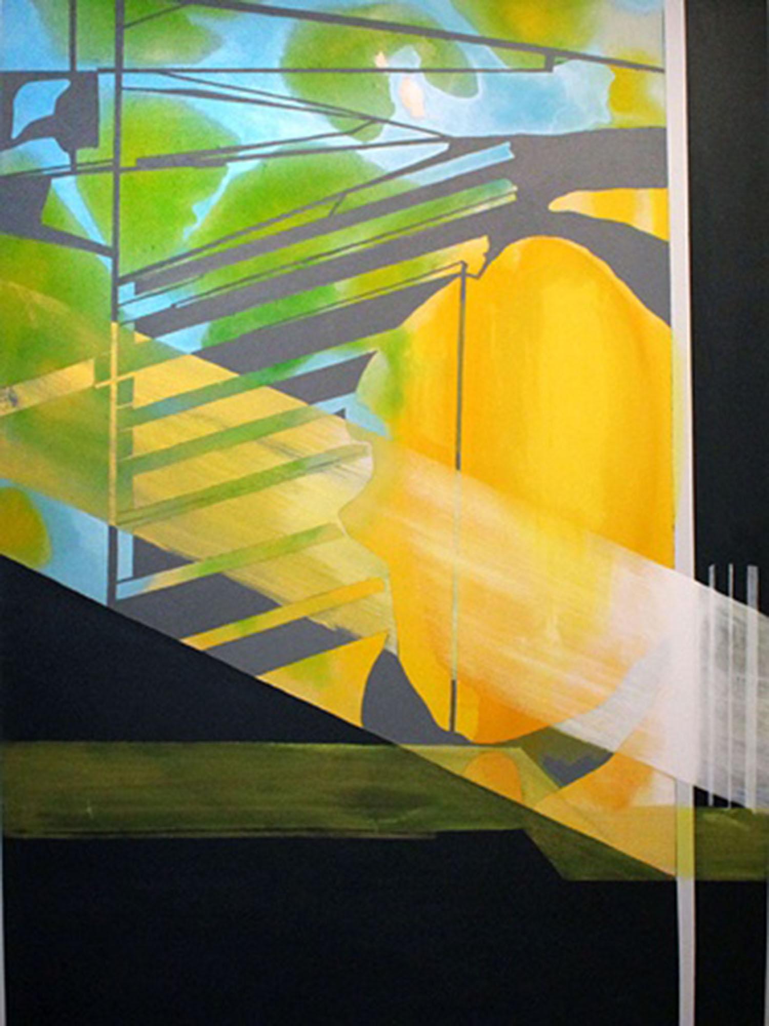 8:34–9:02 am , 66x48, acrylic on canvas