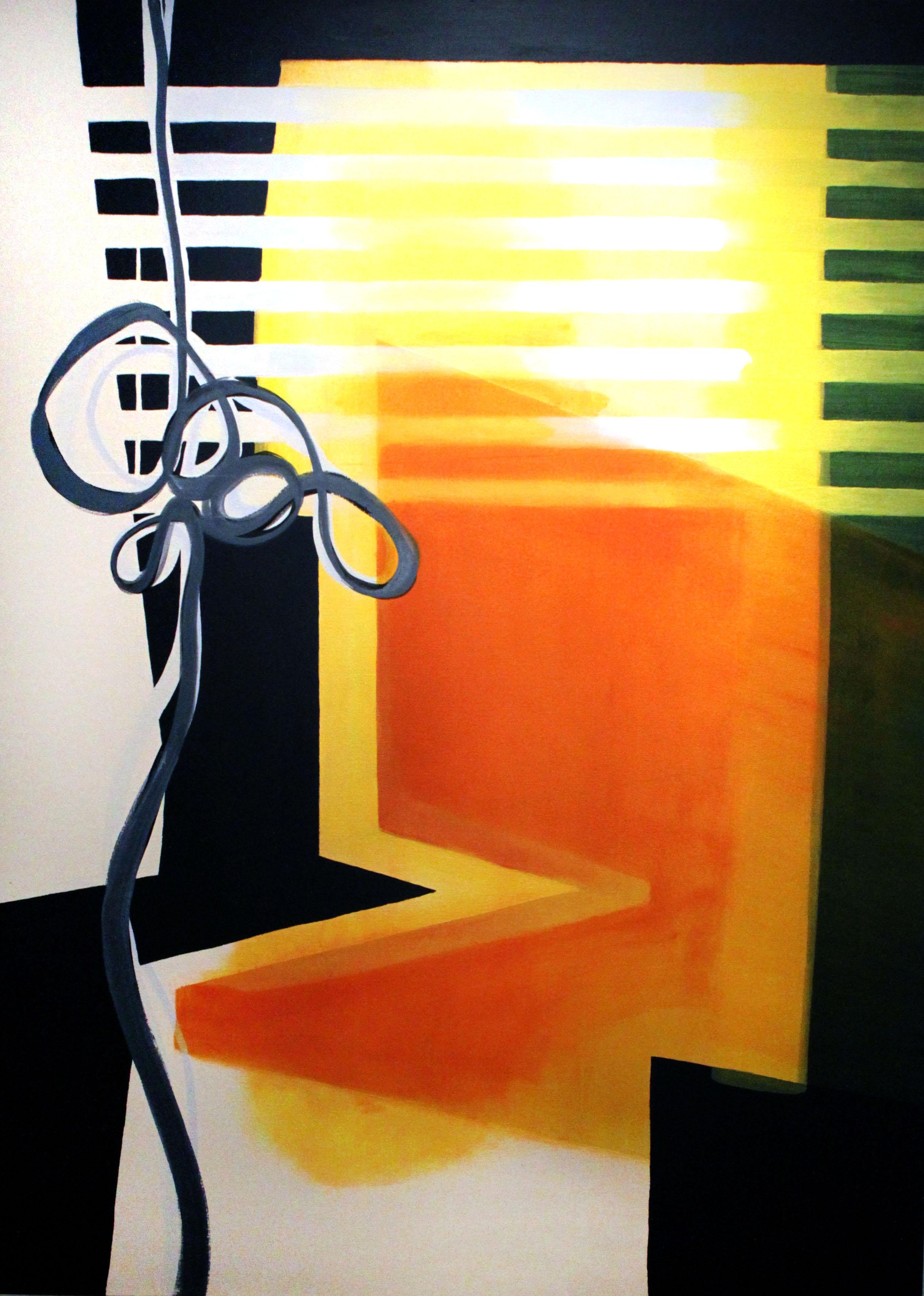 9:19–9:25 am , 66x48, acrylic on canvas