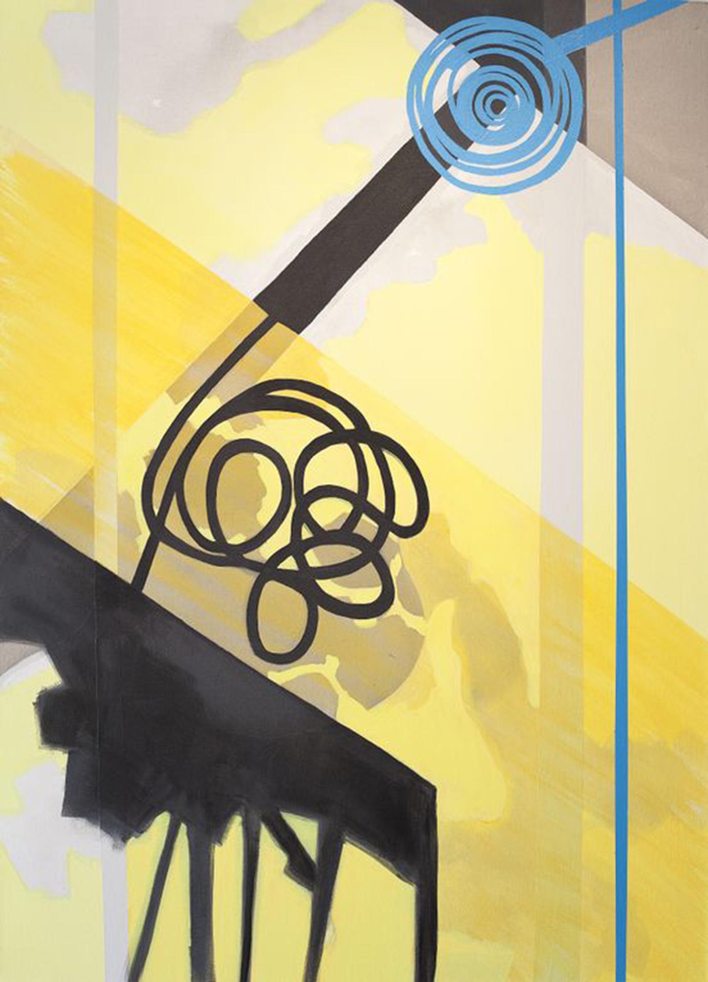 10:18–10:24 am , 66x48, acrylic on canvas