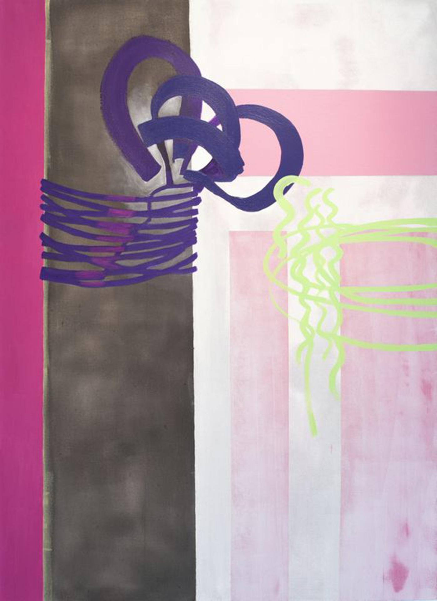 10:30–11:00 am , 66x48, acrylic on canvas