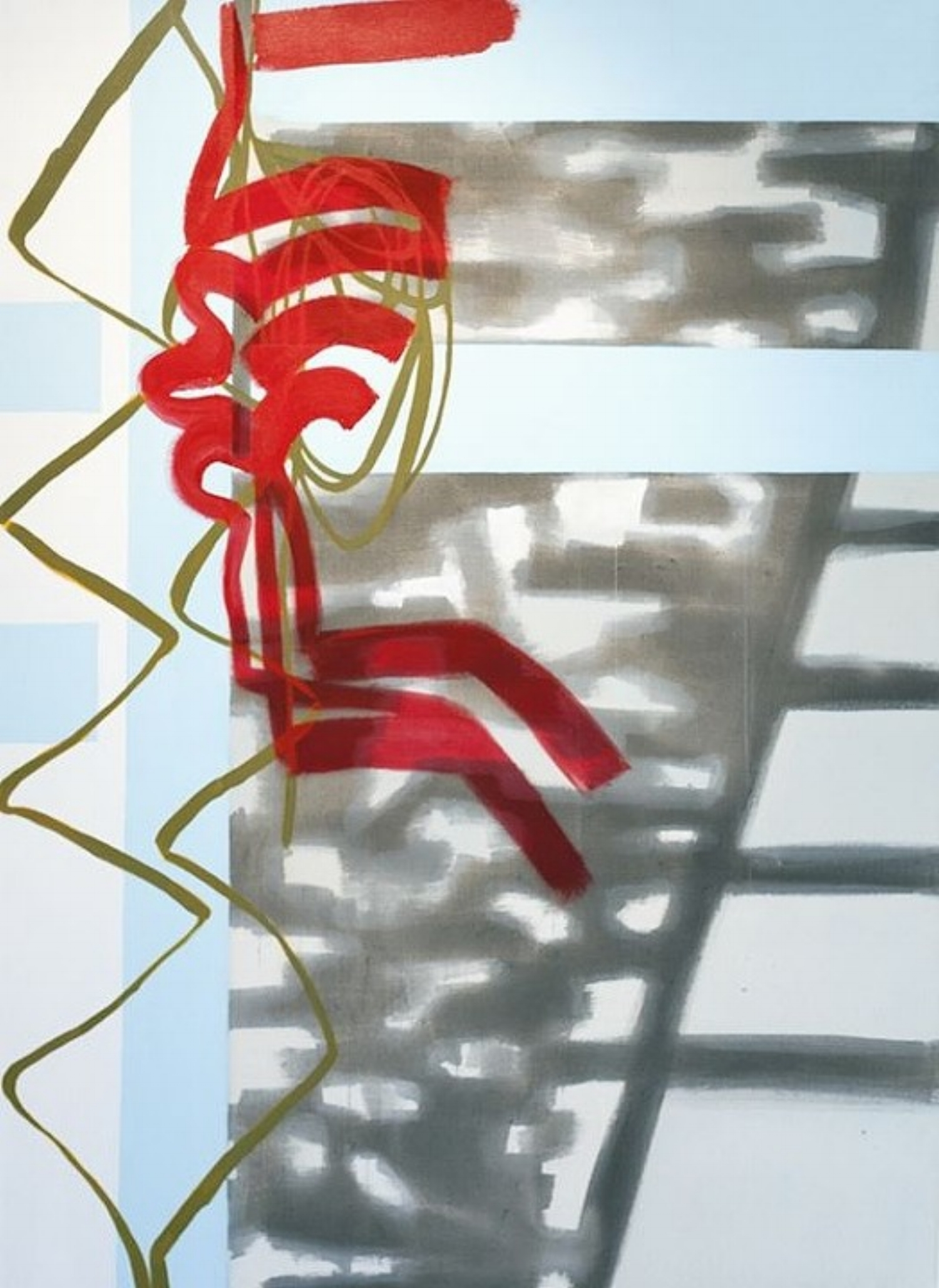 11:15 am–1:13 pm , 66x48, acrylic on canvas