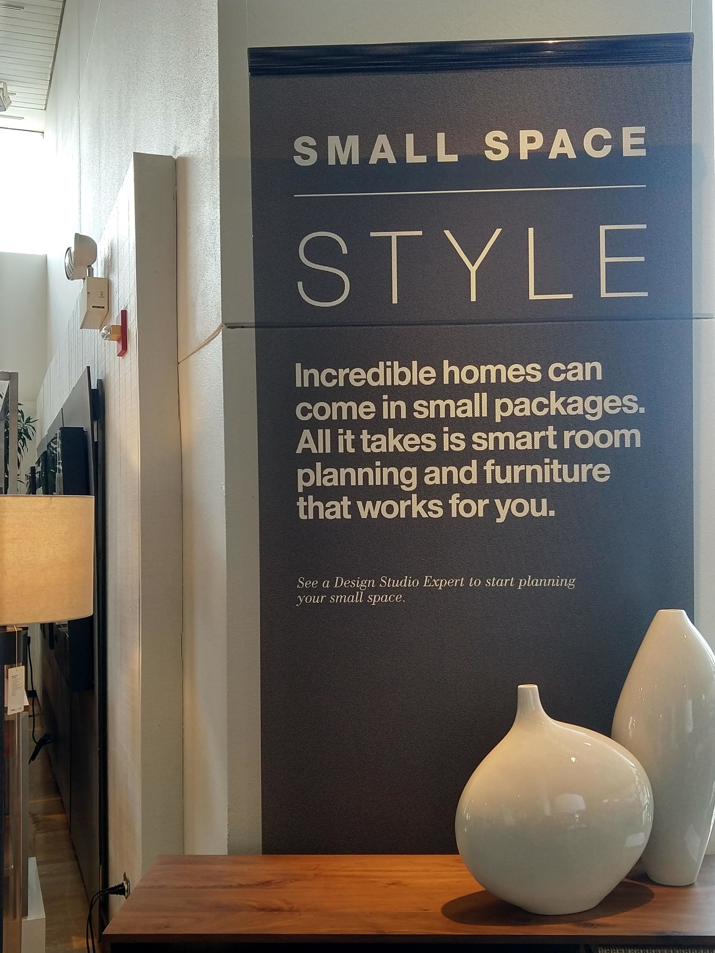 SMALL SPACE STYLE SIGNAGE // 2018