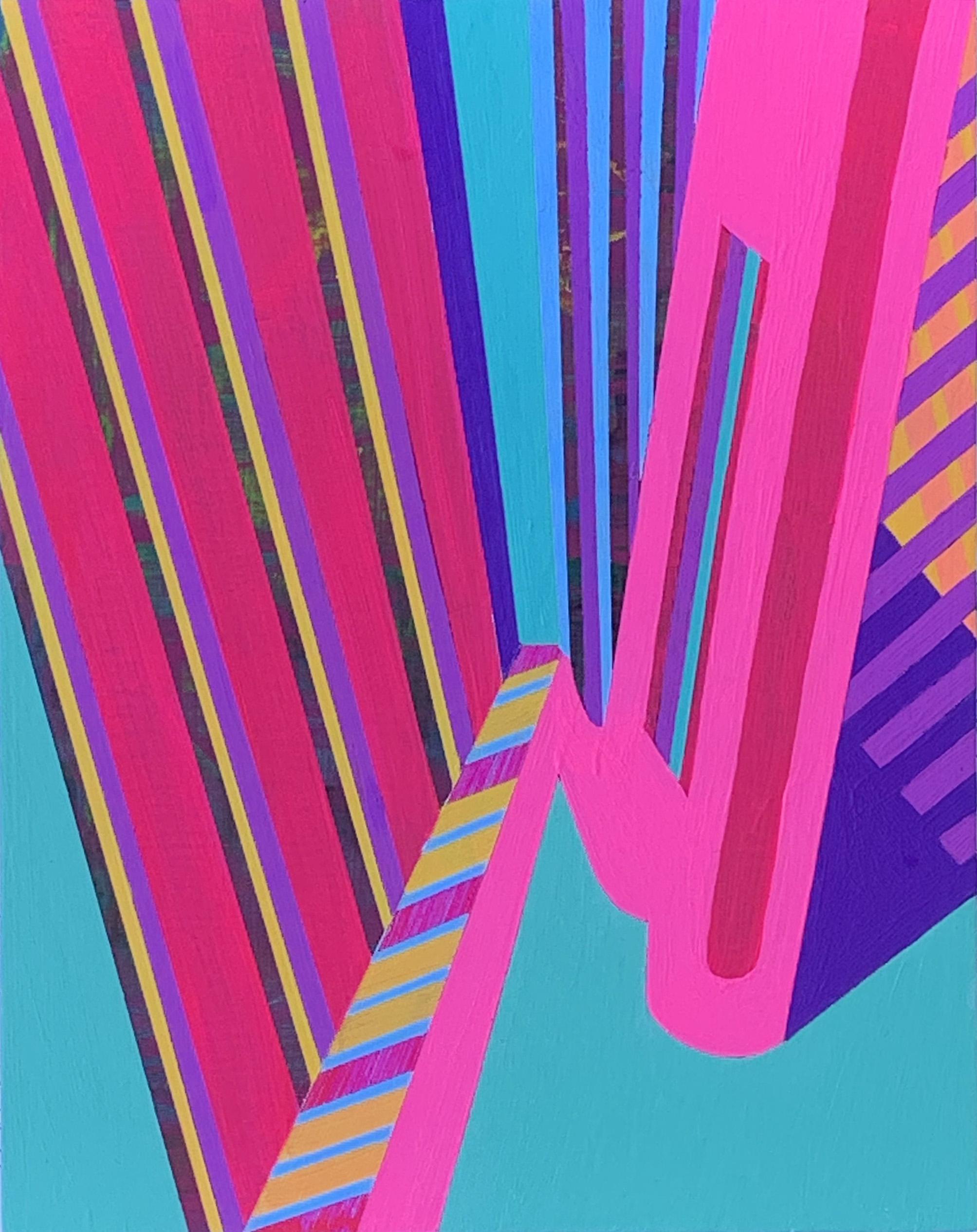 Morning on the Patio 2 , 10x8, acrylic on panel