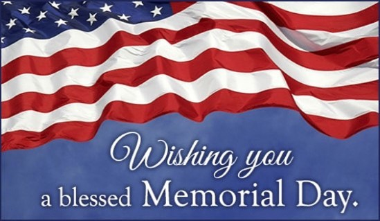 🇺🇸Wishing everyone a safe and blessed Memorial Day weekend and remembering those who gave the ultimate sacrifice!