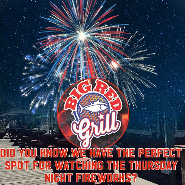 🚩Extra hours tonight for the fireworks! Come see us!  Thurs., 6/27
