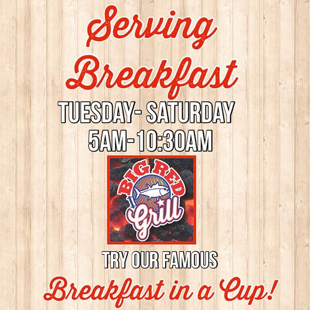 🚩Have you tried our Breakfast in a Cup?  It's kind of a BIG deal!