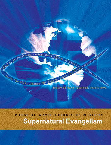 "Supernatural Evangelism - Supernatural Evangelism""But if our gospel be hid, it is hid to them that are lost: In whom the god of this world hath blinded the minds of them which believe not, lest the light of the glorious gospel of Christ, who is the image of God, should shine unto them.""2 Corinthians 4:3-4This course will both equip the Christian with supernatural understanding of man's origins, the origins of false gods and religions, eternal life, causing the Christian to have the knowledge that the Holy Spirit can call forth, when they are ministering to the unsaved, as well as to those in false religions. You will also learn what hinders souls from accepting Christ as Lord and Savior, and how to supernaturally remove those hindrances, releasing many to come to Christ. You will be taught regarding how to receive an anointing for evangelism and much more. If you desire to become an effective soul winner, who understands both the natural and spiritual dynamics behind the salvation of souls, then this course is for you."