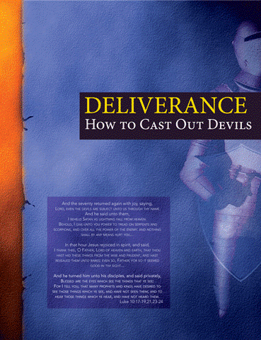 Deliverance: How to Cast Out Devils - Behold, I give unto you power to tread on serpents and scorpions, and over all the power of the enemy: and nothing shall by any means hurt you. Notwithstanding in this rejoice not, that the spirits are subject unto you; but rather rejoice, because your names are written in heaven. Luke 10:19-20Many of us who are Christians are in various kinds of bondages, that we have been seeking deliverance from. If you are in bondage to anything, there are steps you can take as a child of God to receive deliverance. This course will teach you how to free yourself and others from the oppression of the enemy. Often times sin, generational curses and hidden doorways can give the enemy access thus keeping us in bondage. Often times our lack of spiritual knowledge causes us to go throughout life never receiving the freedom and liberty that the resurrection of Jesus Christ has granted us. But as a Child of God we have been given the right, through the righteousness of Christ, that when we declare the name of Jesus it unlocks every chain and yoke that holds men and things in bondage. As you apply the teachings in this course you will gain the confidence to remove all grounds that give the Devil legal rights to hold you, your family, community etc. bound. As a result, there will be a release of all those things that were held bound; your finances, your health, the salvation of your love ones, and every spiritual blessing God has promised you.