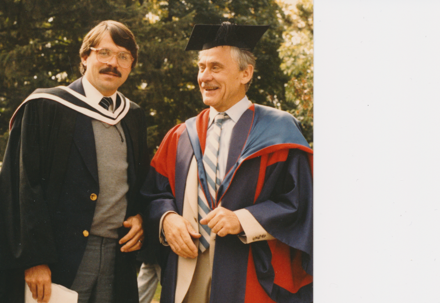 Receiving Masters degree in Philosophy with Terry Williams
