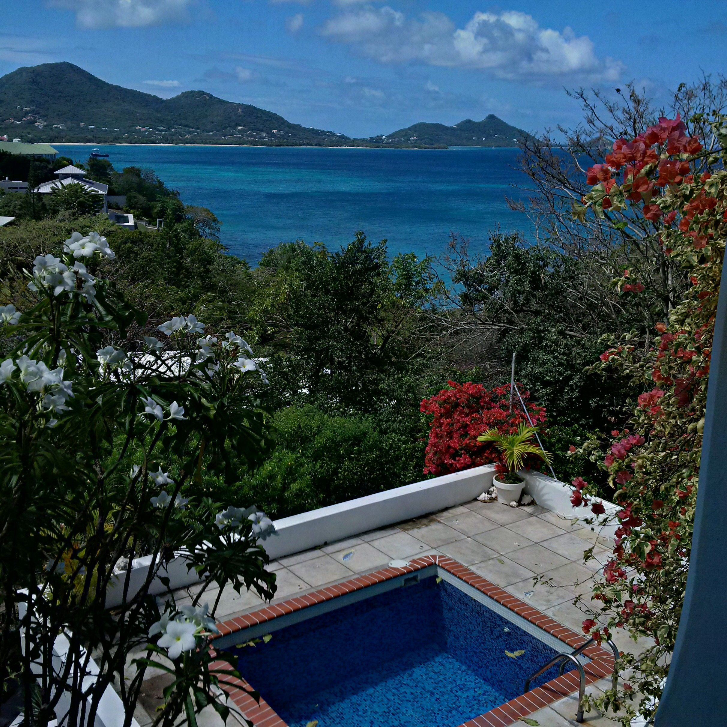 View from our bedroom in Carriacou