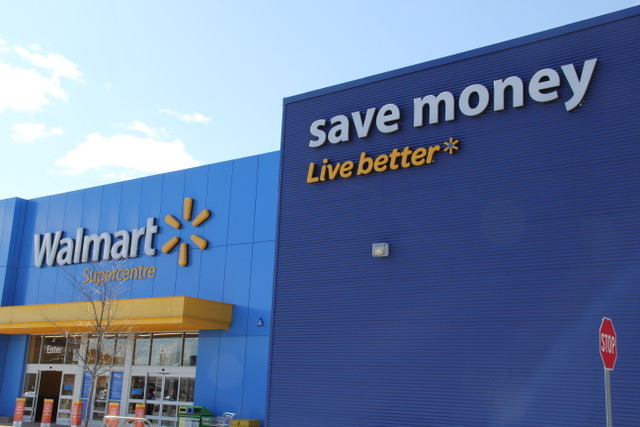 """Walmart's advertising slogan or what I call its """"theory of living"""""""