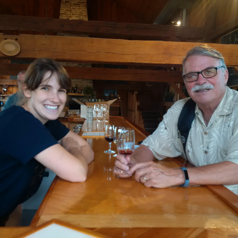 Maggie Belcastro with Bob