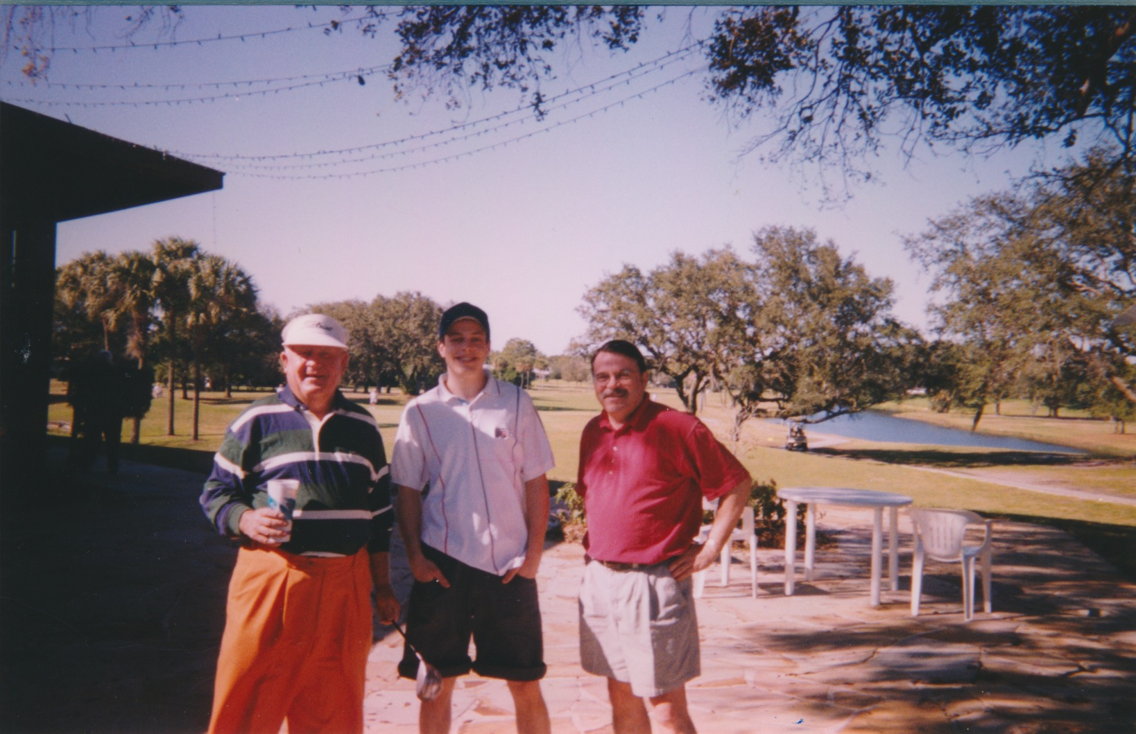 Moe Norman with Court and Bob Desautels