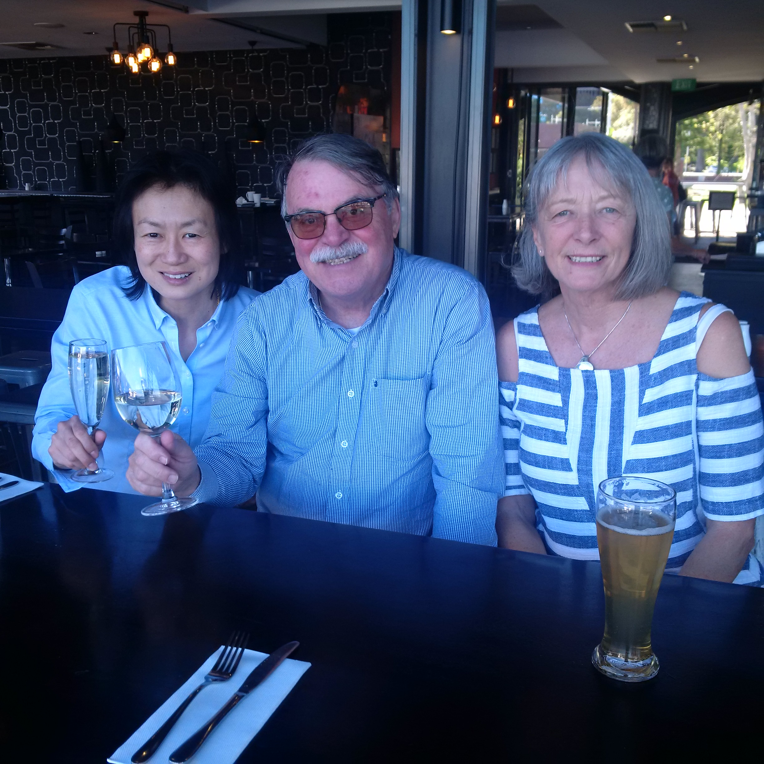 Bob & Sue with Judith Yan