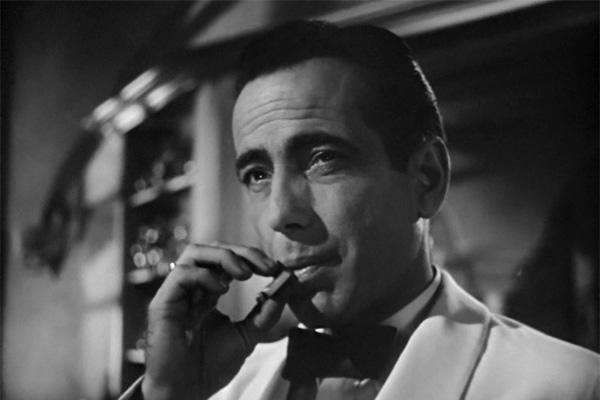 "A lot of what we do, and problems we encounter in our lives don't even add up to ""a hill of beans"" as Bogart said in the film ""Casablanca""."