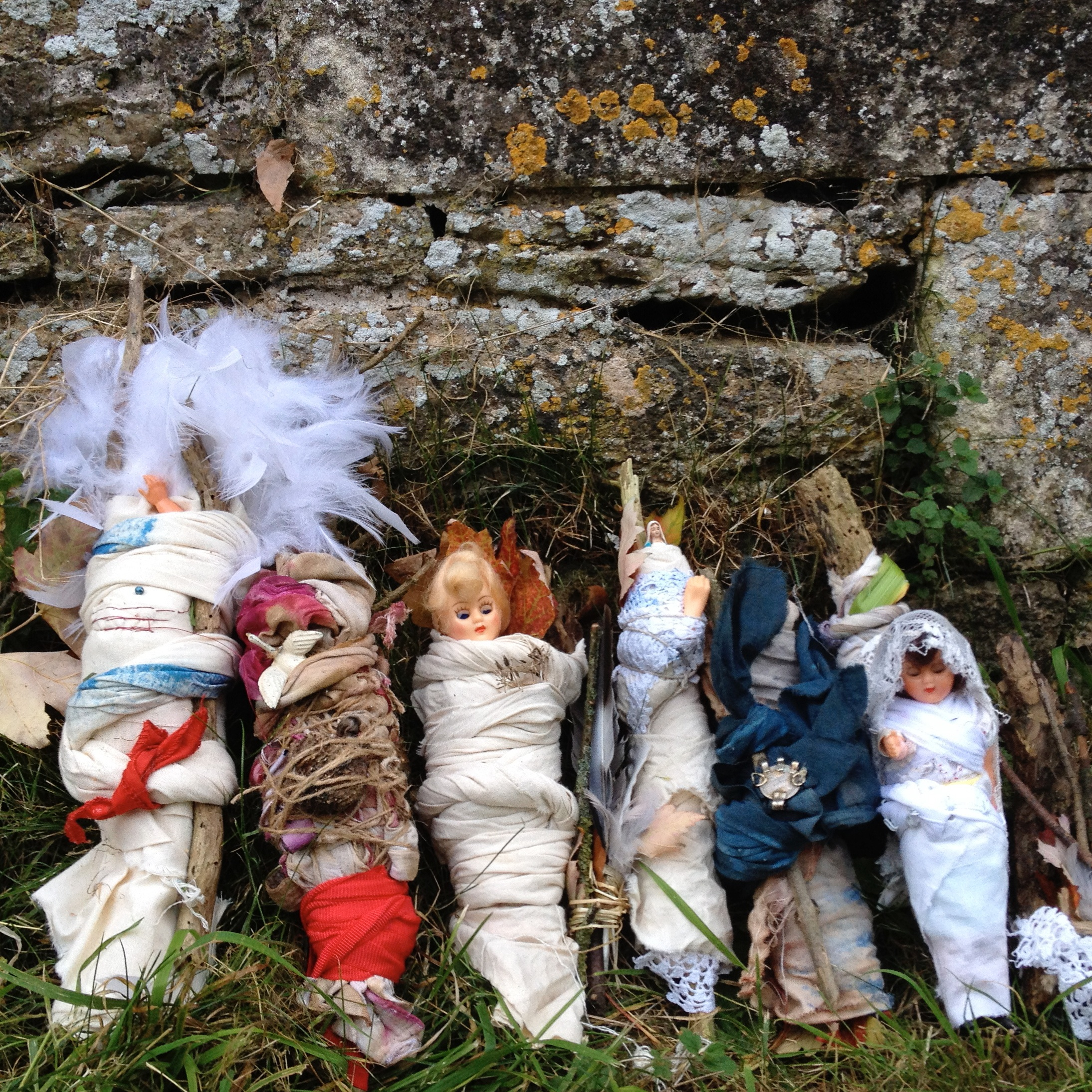 Doll Offering Bundles, Lacock Abbey