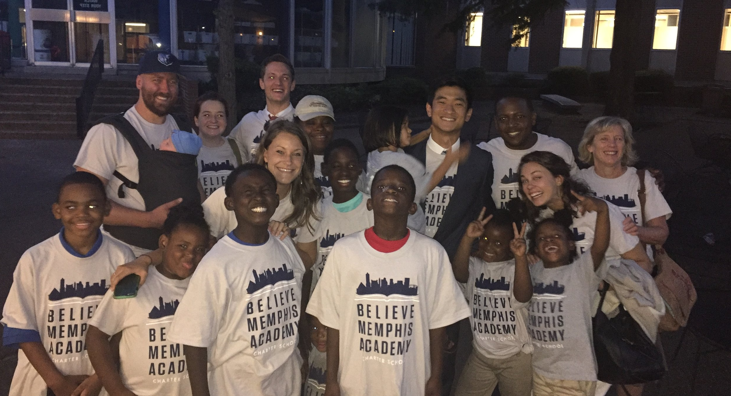 August 22, 2017 - Believe Memphis Academy Charter School's charter application is approved by the Shelby County Board of Education.