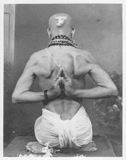 'Master your breath, let the self be in bliss, contemplate on the sublime within you' —Shri Tirumalai Krishnamacharya