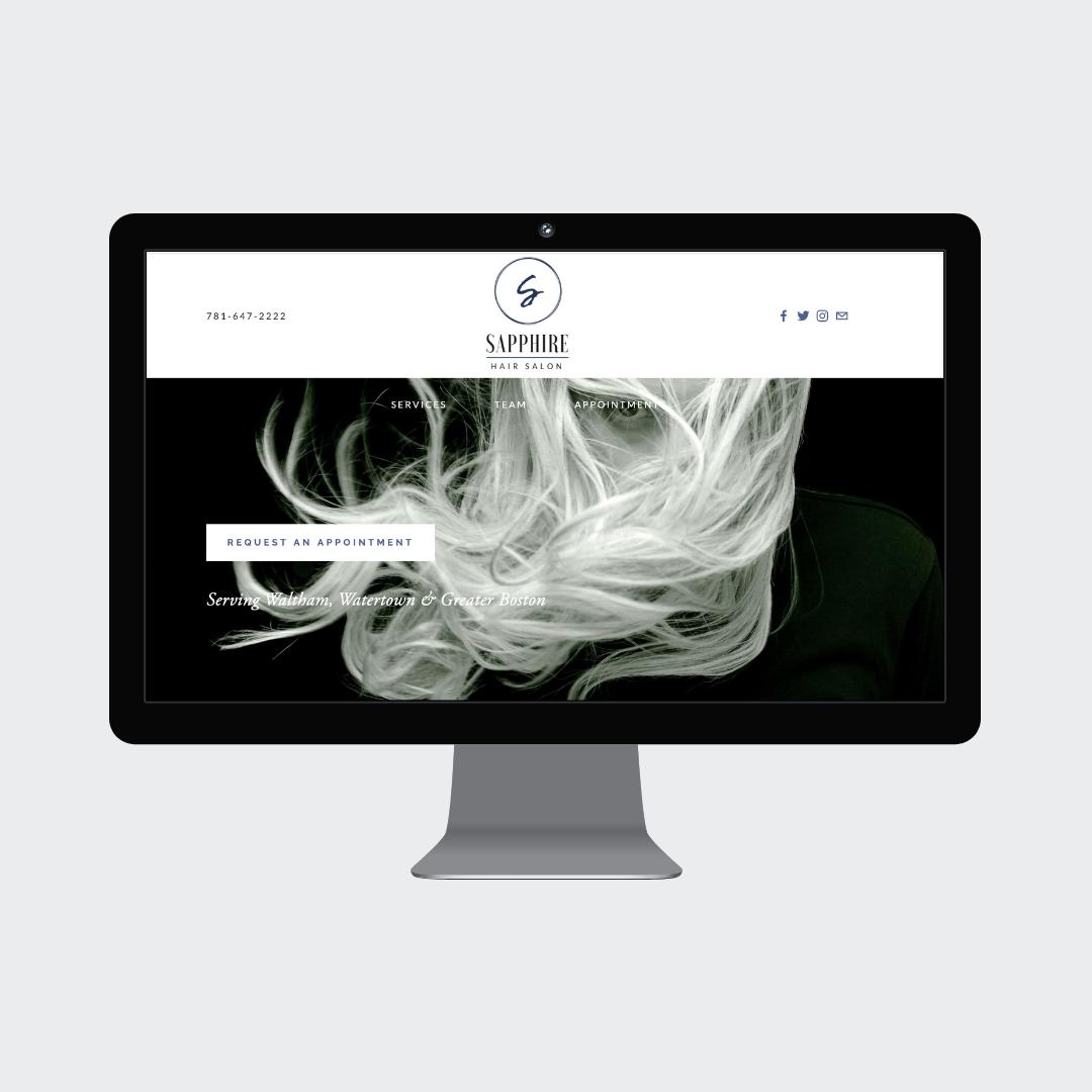 Sapphire Hair Salon Squarespace Website Grey Barn Media.png
