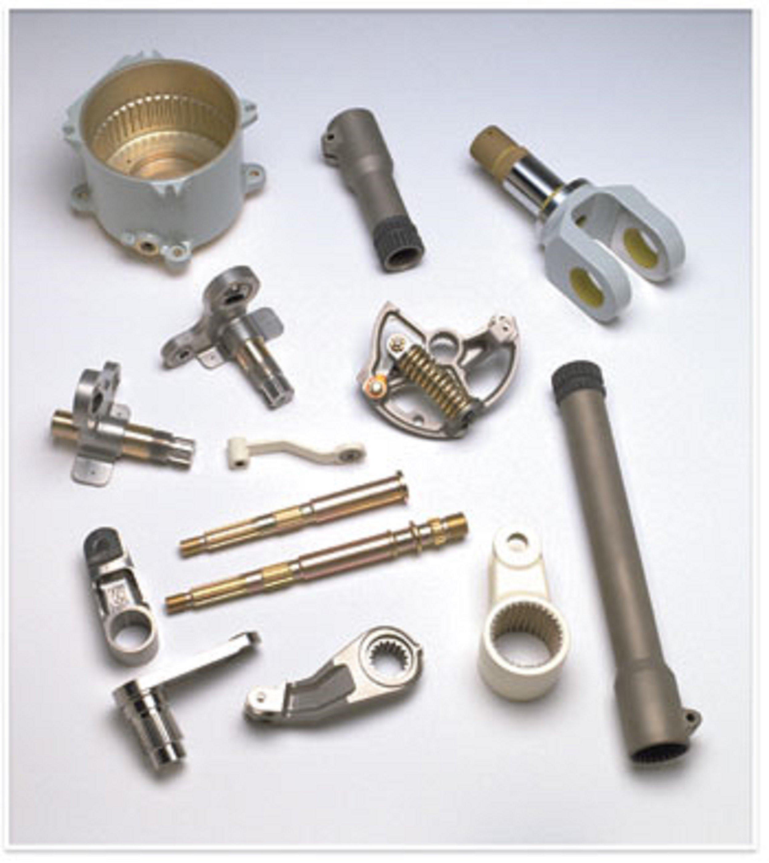 Internal and External Splined Parts