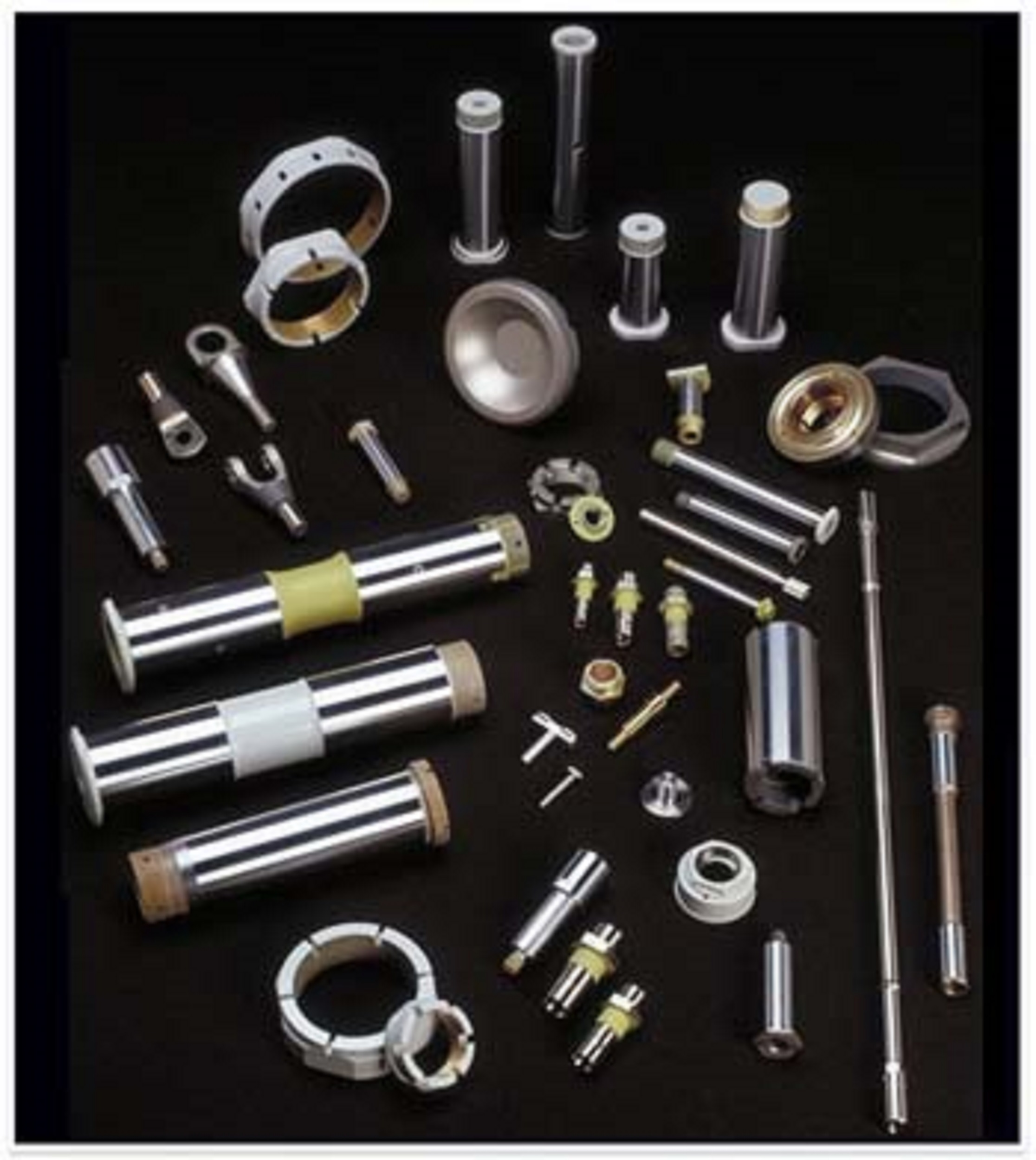Chrome Pins, Shafts, and Fasteners