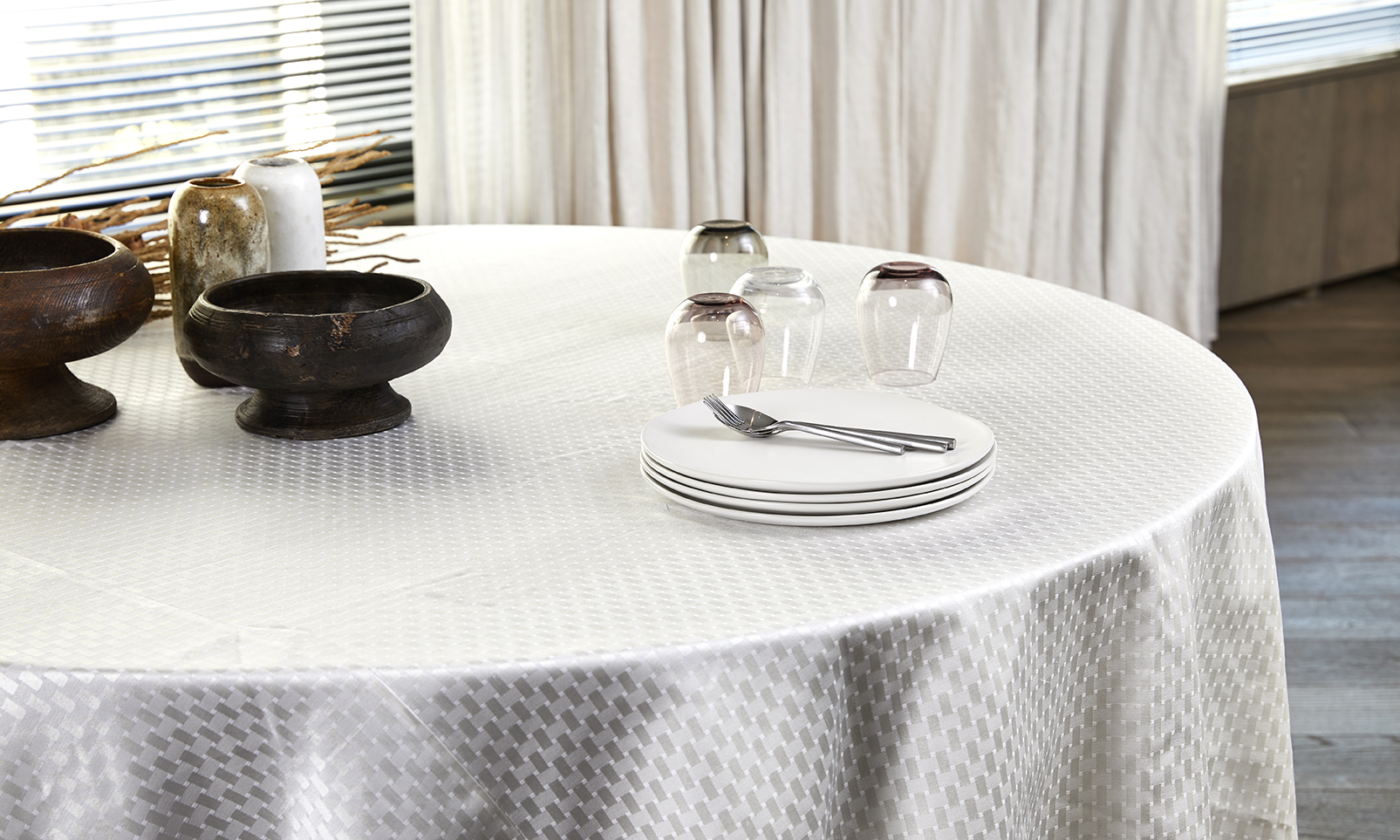 Overlays and Underlays  A unique decorative accent that adds just the right touch of personality and elegance to your table.   Learn More...
