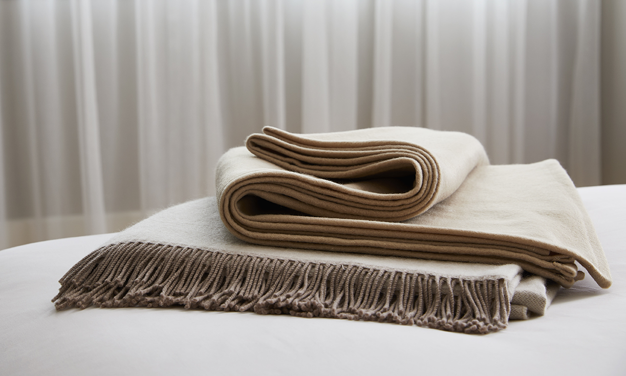 Blankets  Wrap yourself in the unparalleled luxury of Revival New York's soft and comfortable blankets.   Learn More...