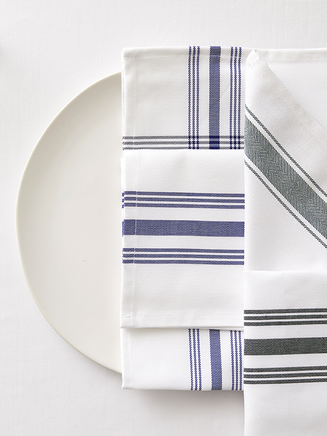 Table Linens - Dress any table with the effortless elegance of our extraordinary collection of the finest table linens. Tablecloths, napkins, table runners, and overlays are all customizable to any specification, so you can make your dining experience come to life.