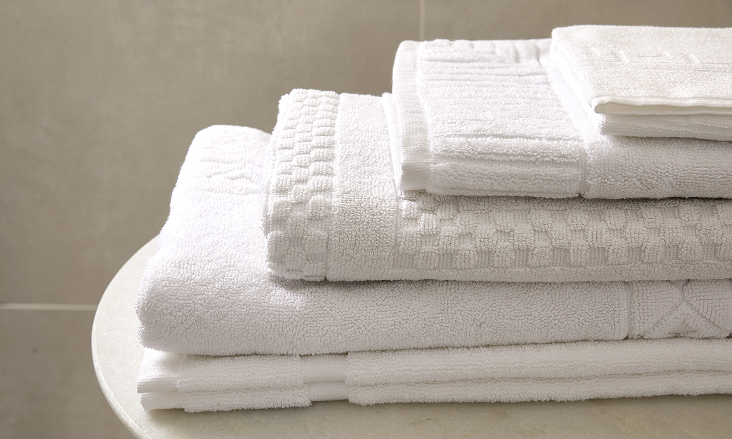 Bath Mats  Soft and absorbent bath mats that can also be custom made to perfectly match all of your other bath linens.    Learn More...