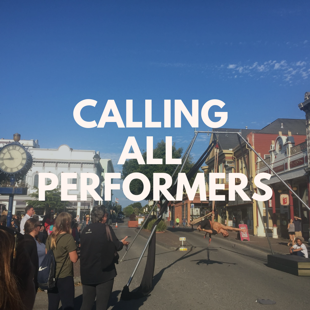 Performance Artist Sign Up for Friday Night Market  Calling all Performers