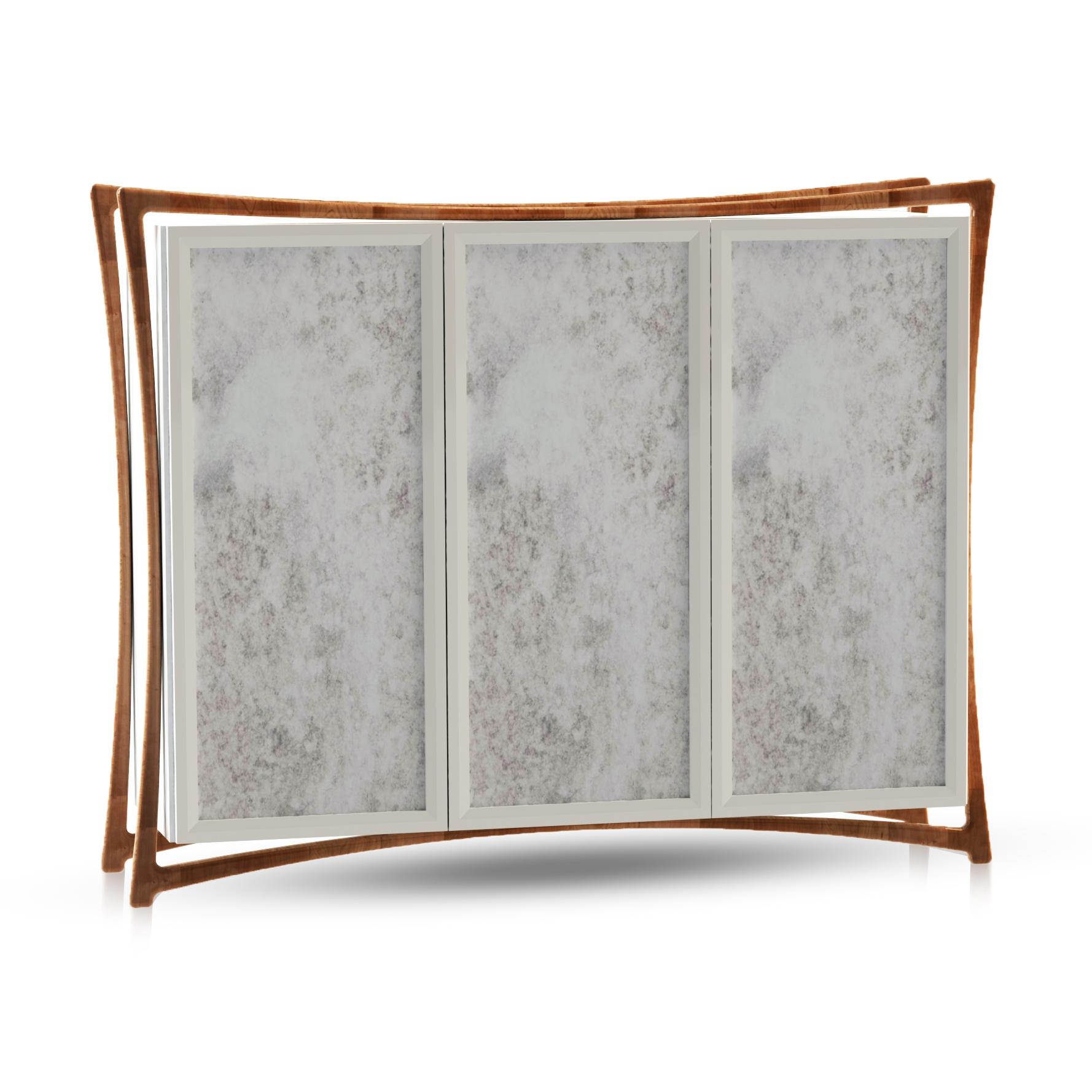 Curved Frame Cabinet
