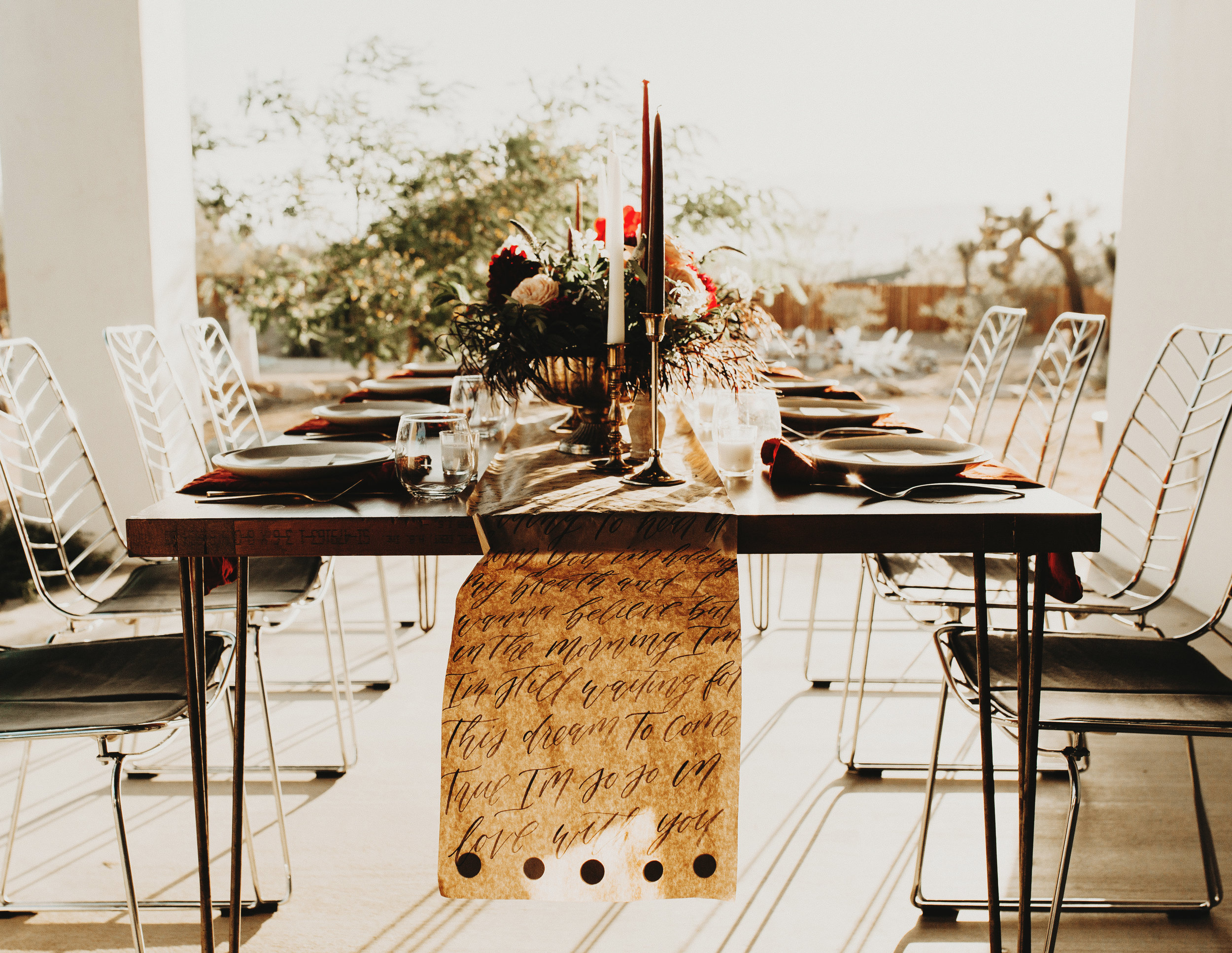 Having a smaller guest count creates an intimate celebration and makes those you invited feel that much more special and cherished.