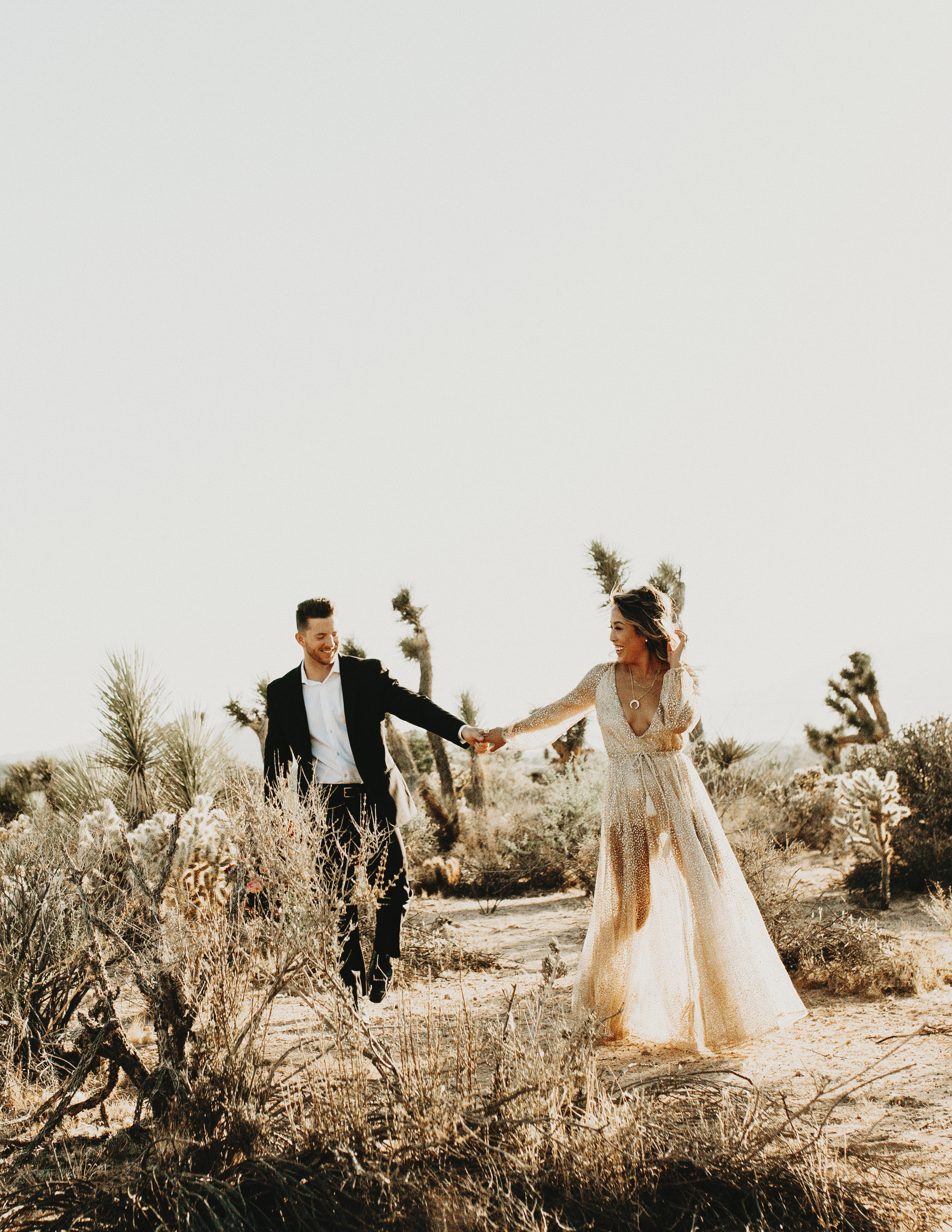 that's it folks - You are well on your way to the best elopement day ever in Joshua Tree National ParkxxCheers