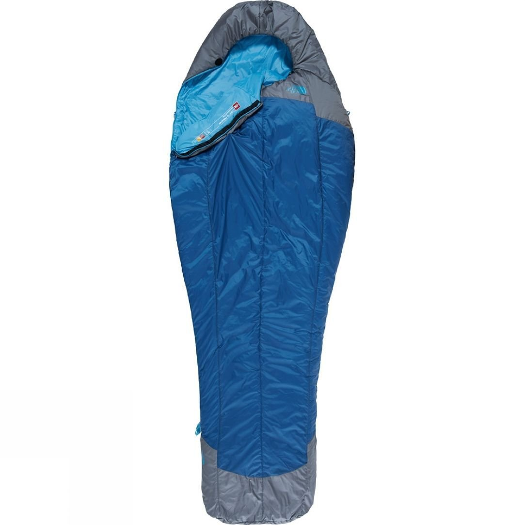 Sleeping Bag – North Face Cat's Meow Long - This is a synthetic sleeping bag that is rated down to -7 degrees. The sleeping bag choice was a compromise, in terms of weight and pack size there are better alternatives but significantly more expensive, so for the cost this was the best option for me. Hopefully it will keep me snug throughout the year. I will also have a thin sleeping bag liner.