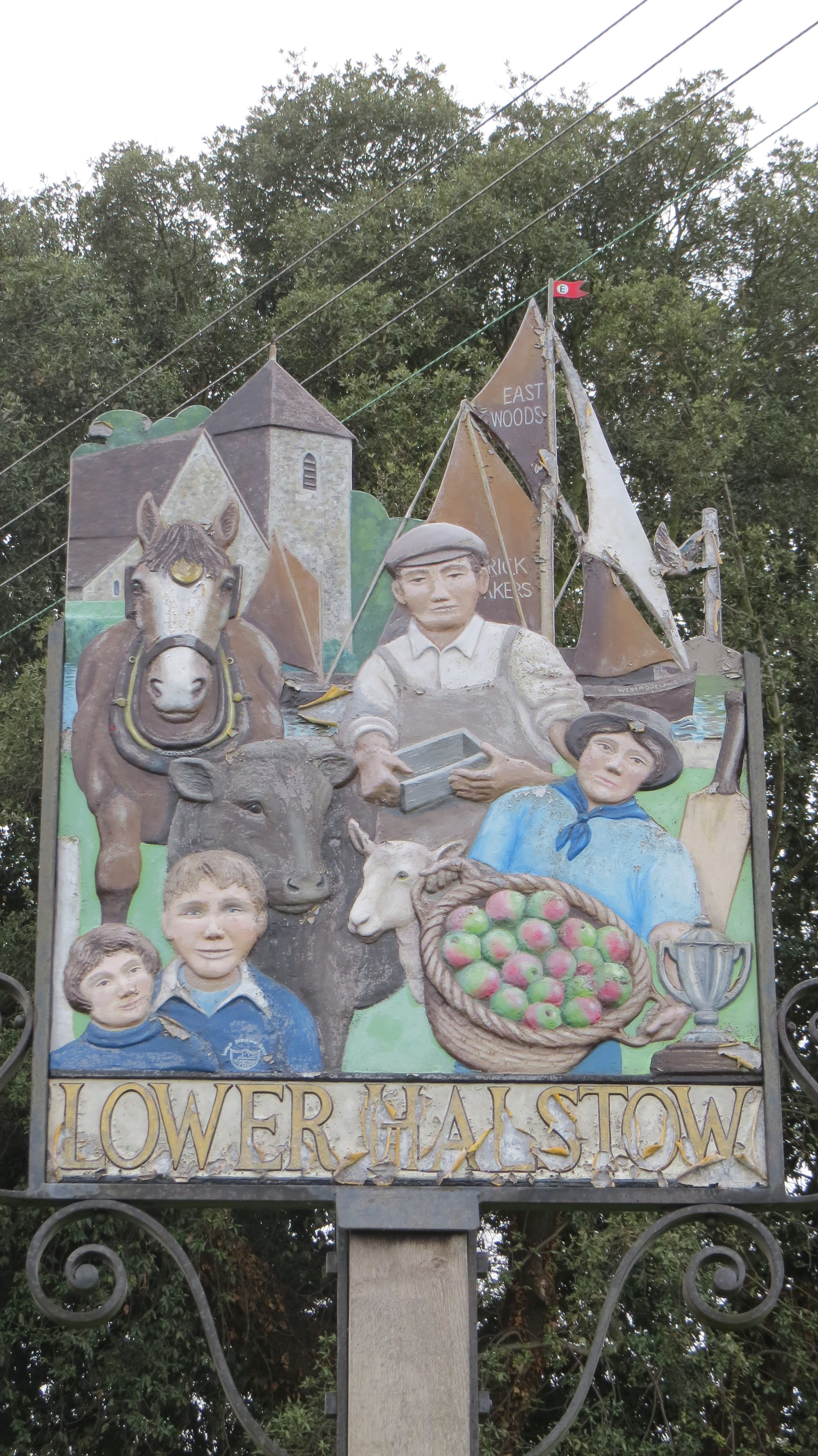Lower Halstow Sign