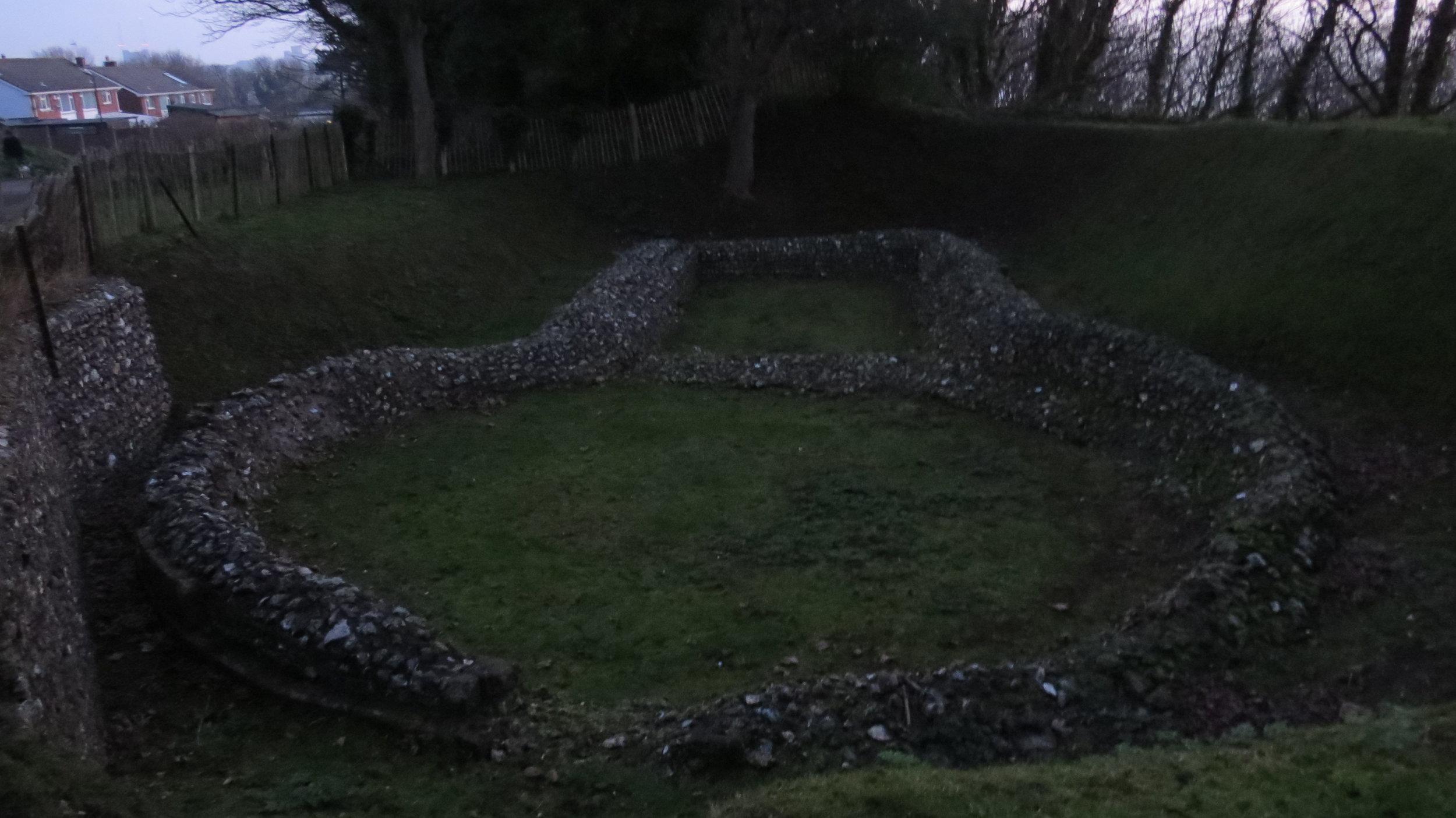 Knights Templar ruin