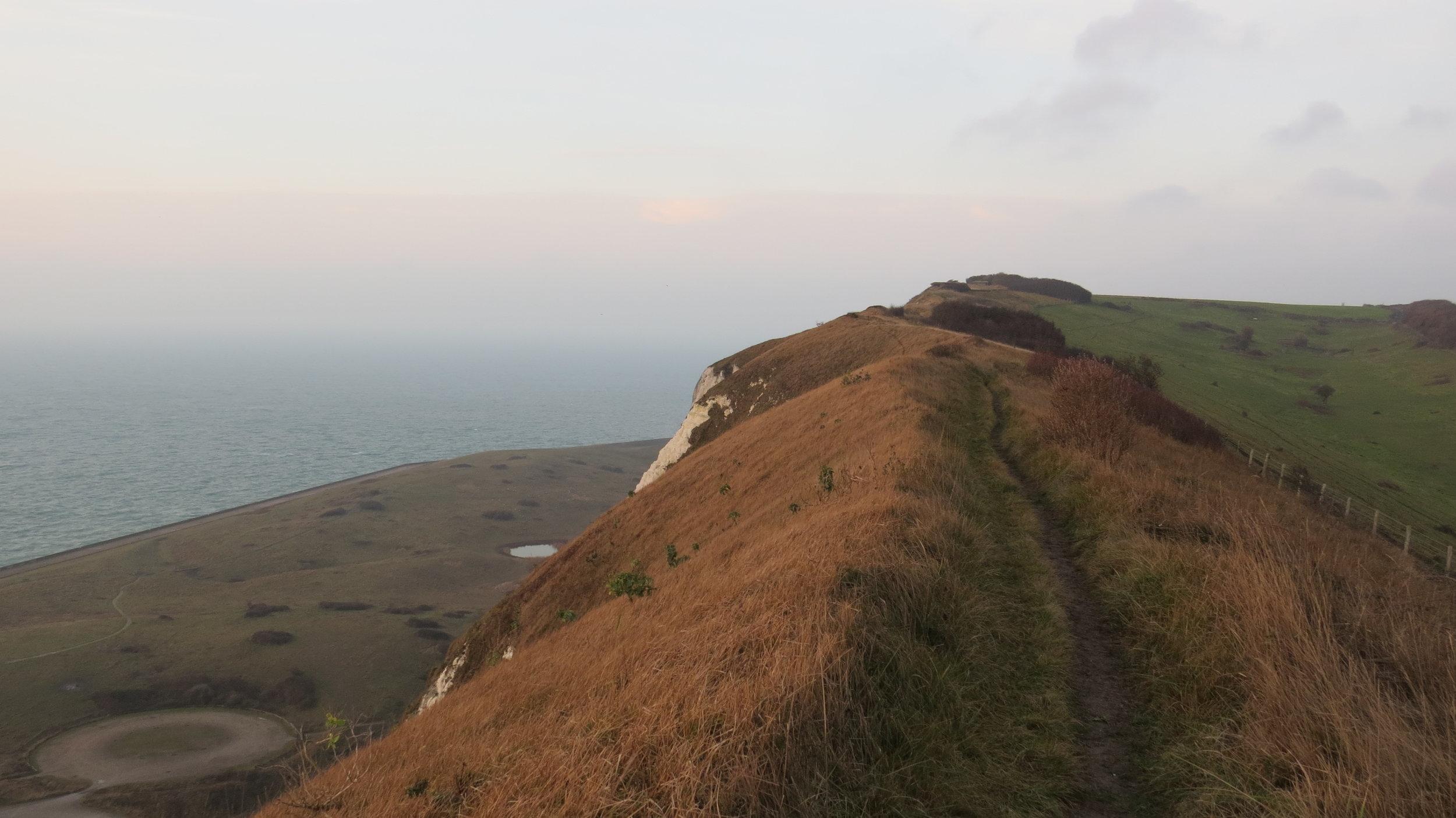 Cliffs above Dover
