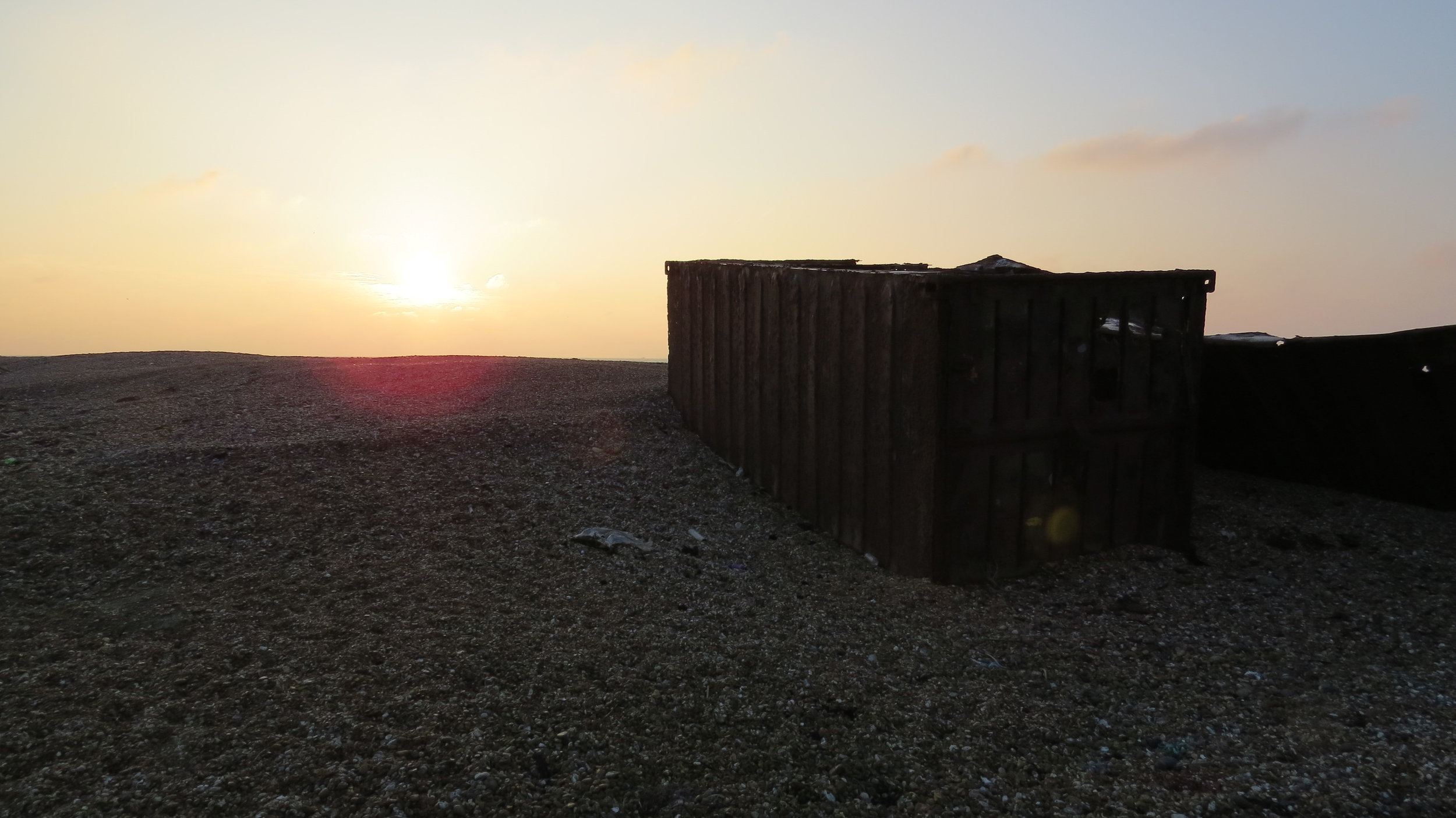 Rusty Shipping Container