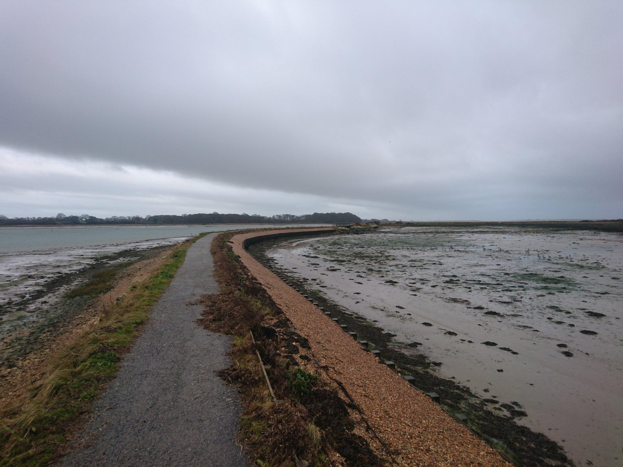 Cobnor Reserve Path