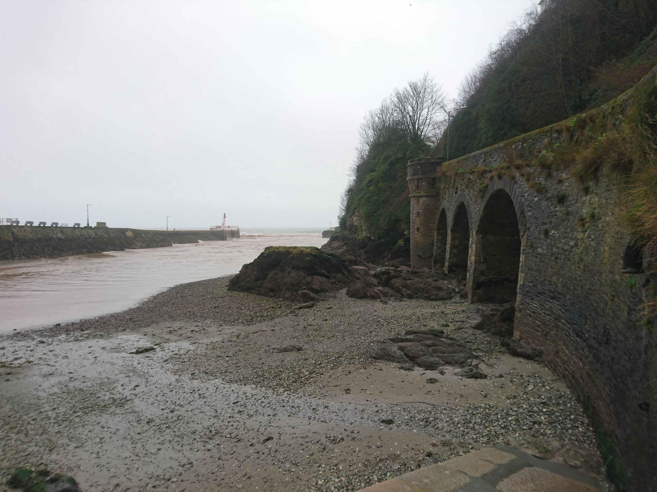 Mouth of Looe Harbour