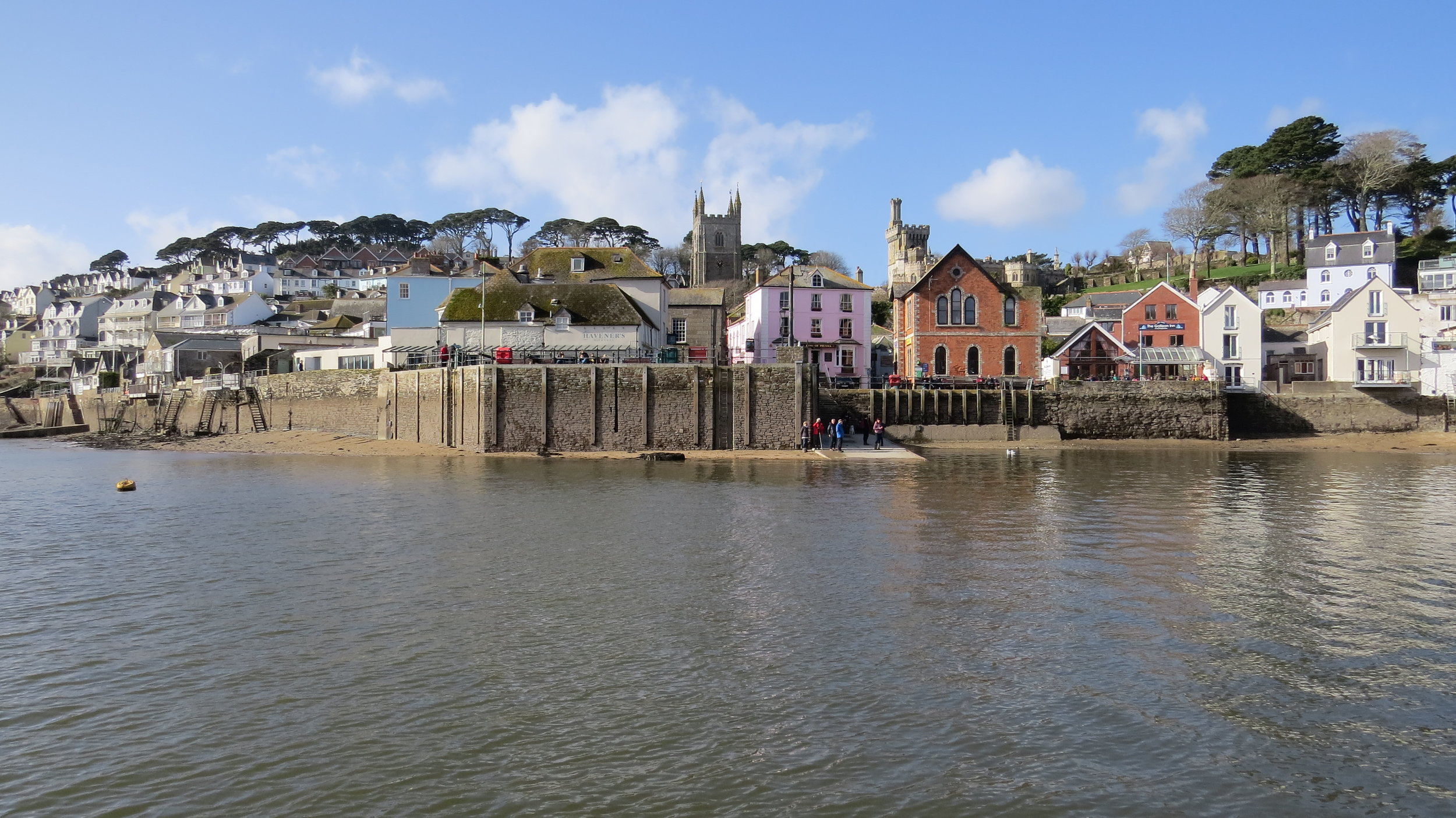 Fowey from the Water